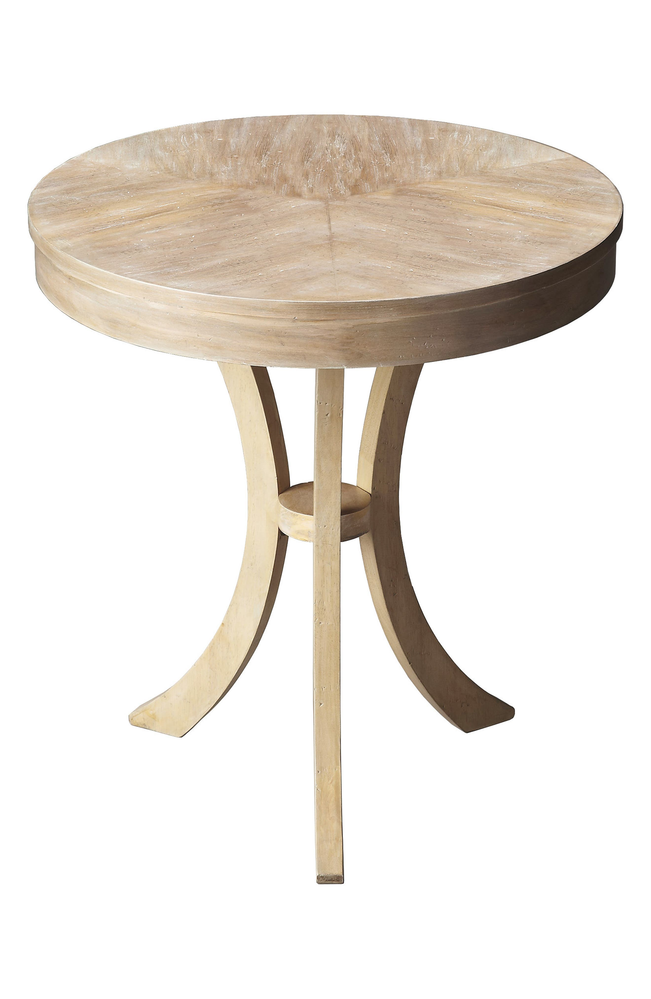 Round Accent Table,                         Main,                         color, Grey