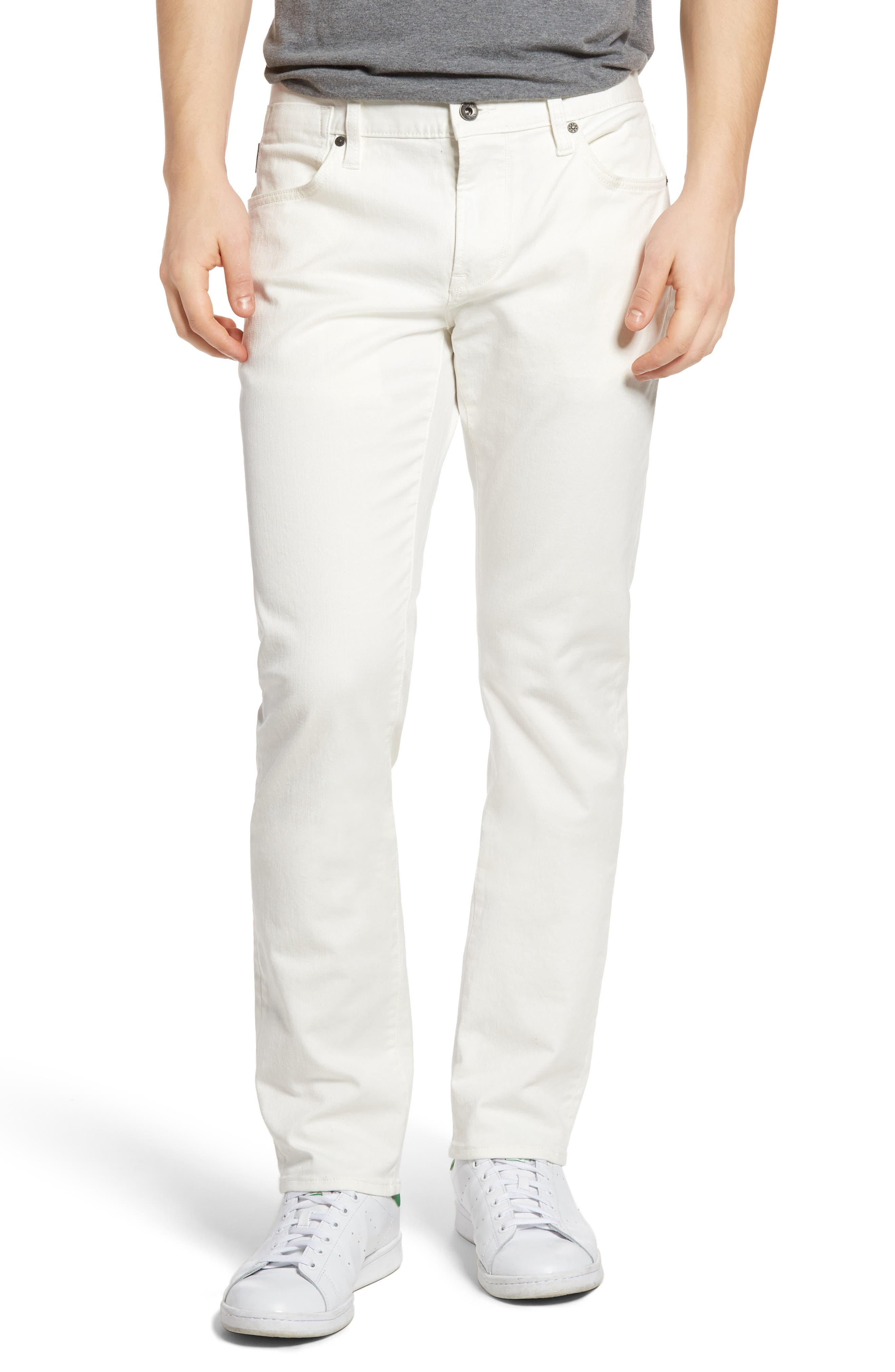 Bowery Slim Fit Jeans,                         Main,                         color, White