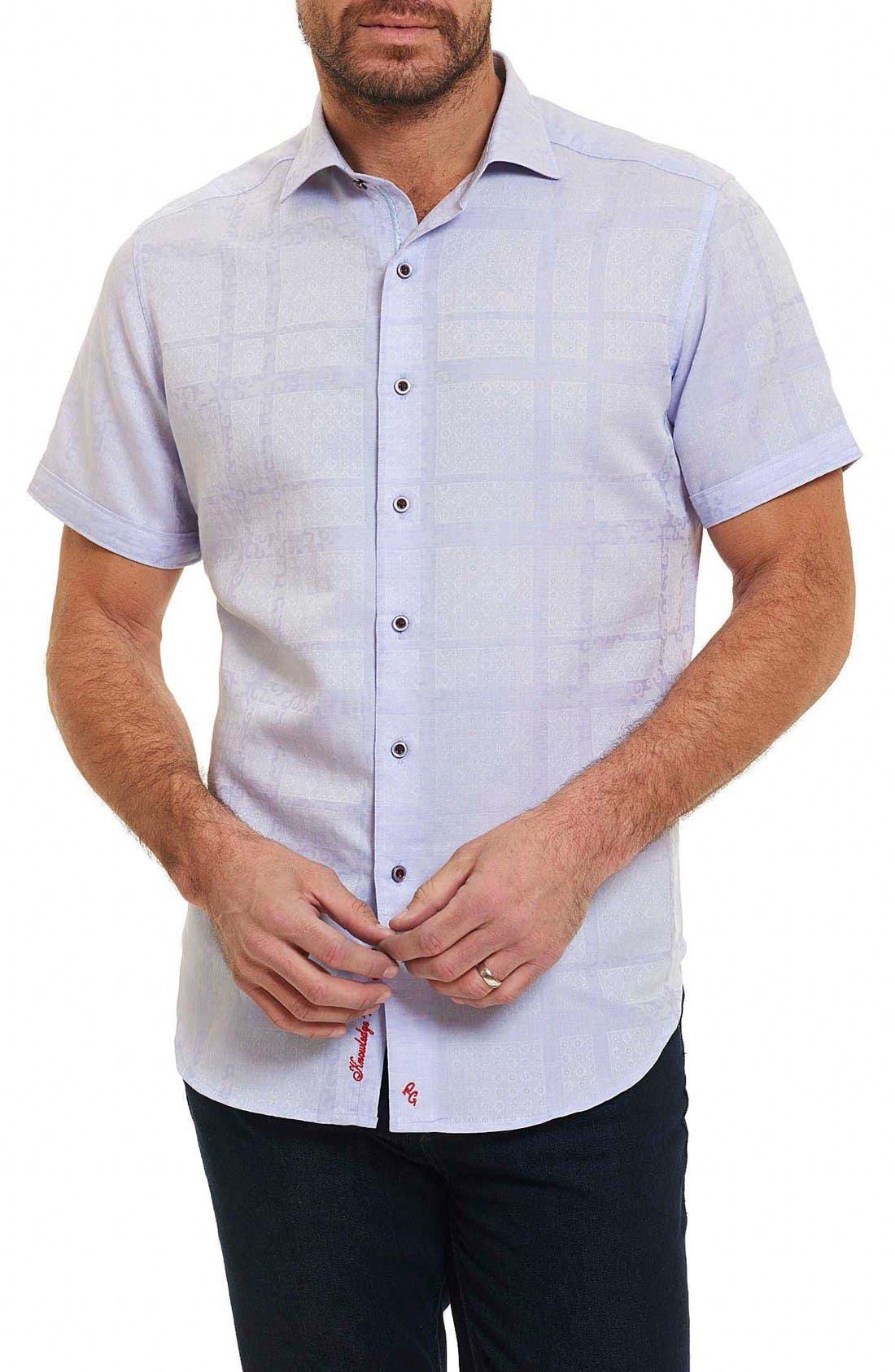 Morley Sport Shirt,                             Main thumbnail 1, color,                             Lilac