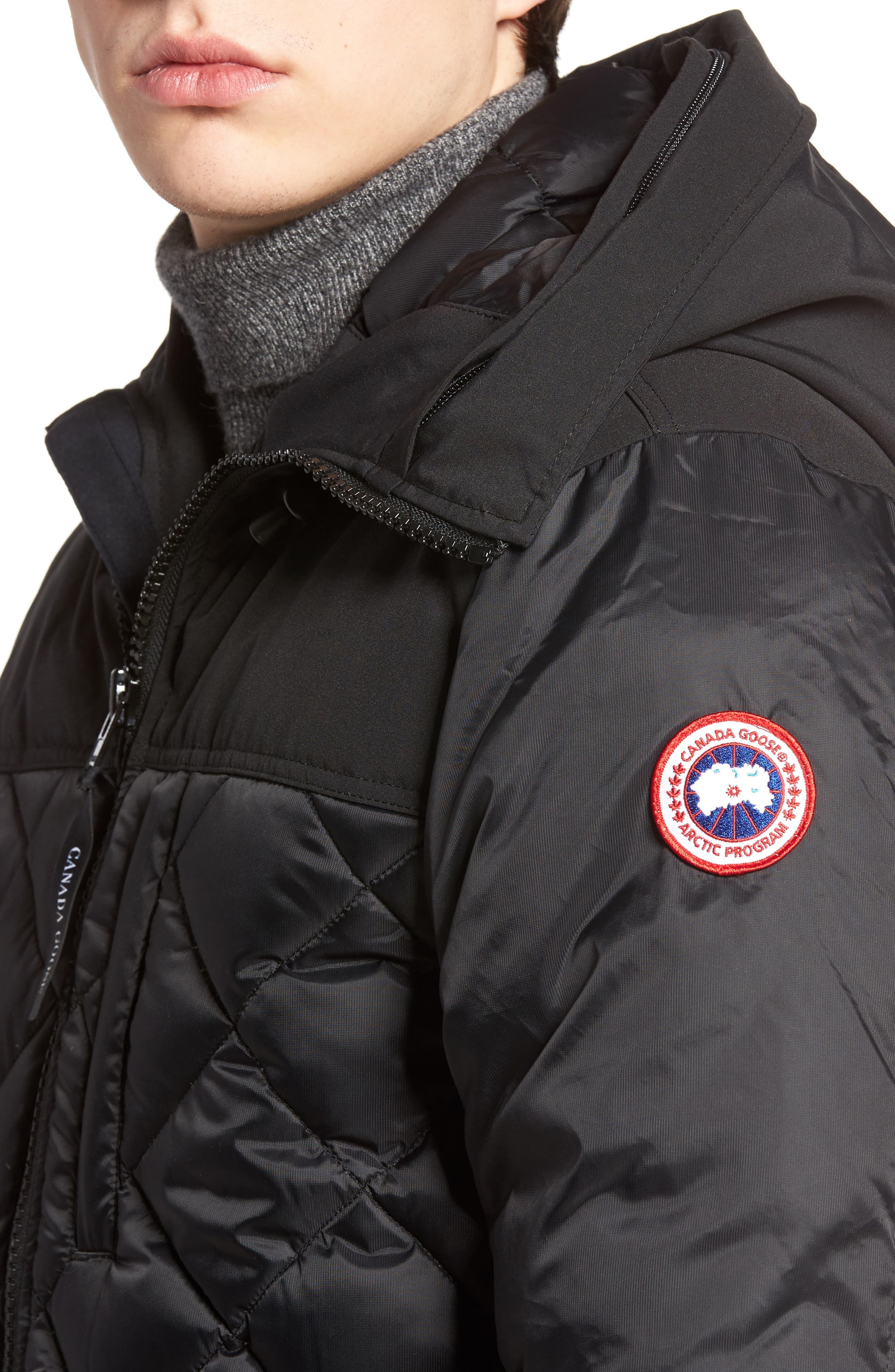 Alternate Image 4  - Canada Goose Pritchard Genuine Coyote Fur Trim Goose Down Parka