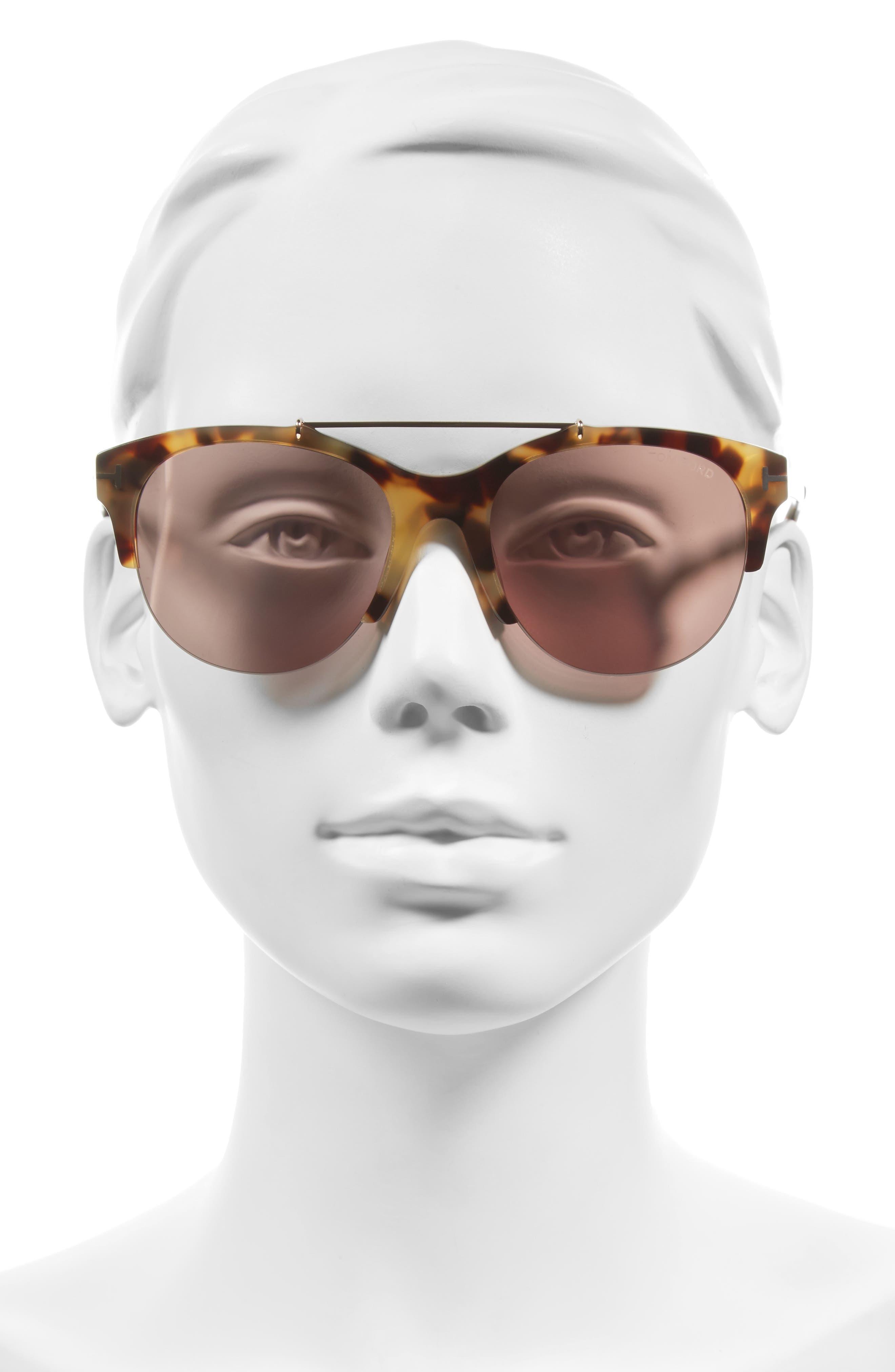 Alternate Image 2  - Tom Ford Adrenne 55mm Sunglasses
