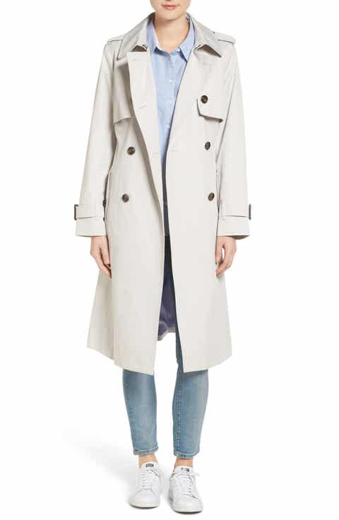 London Fog Double Breasted Trench Coat - London Fog Coats & Jackets For Women Nordstrom Nordstrom