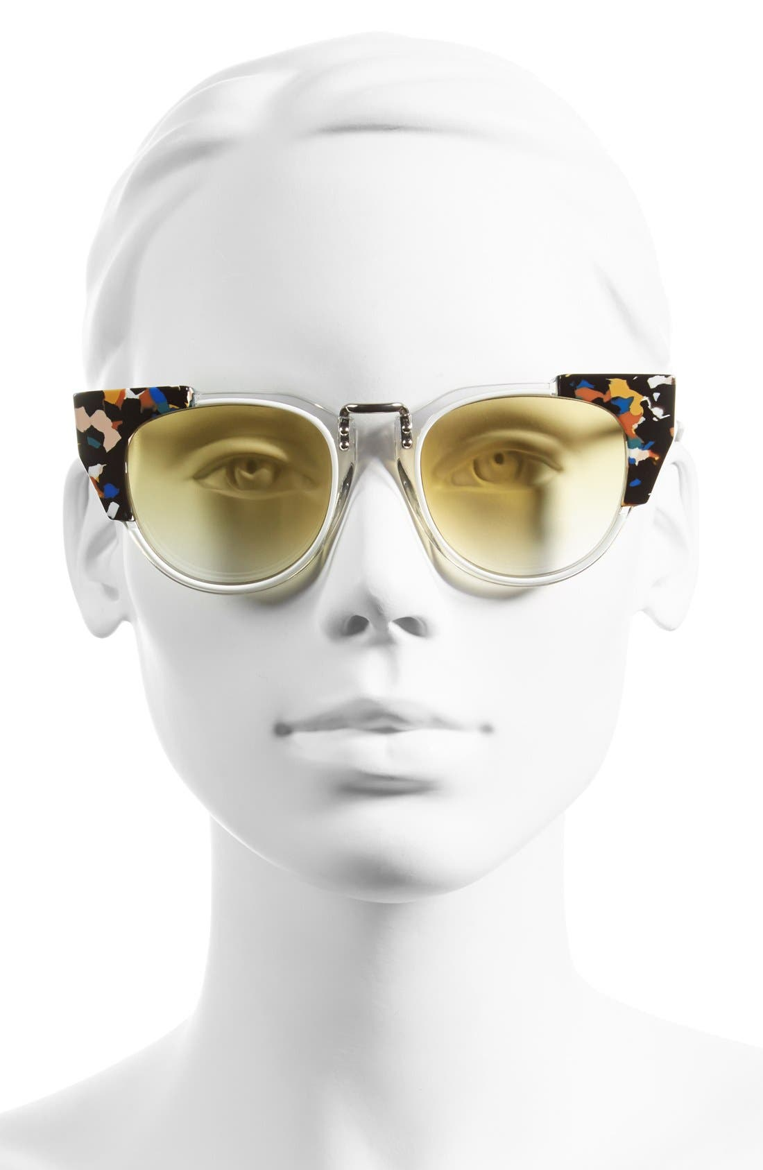 Alternate Image 2  - Fendi 'Fashion Show' 50mm Sunglasses