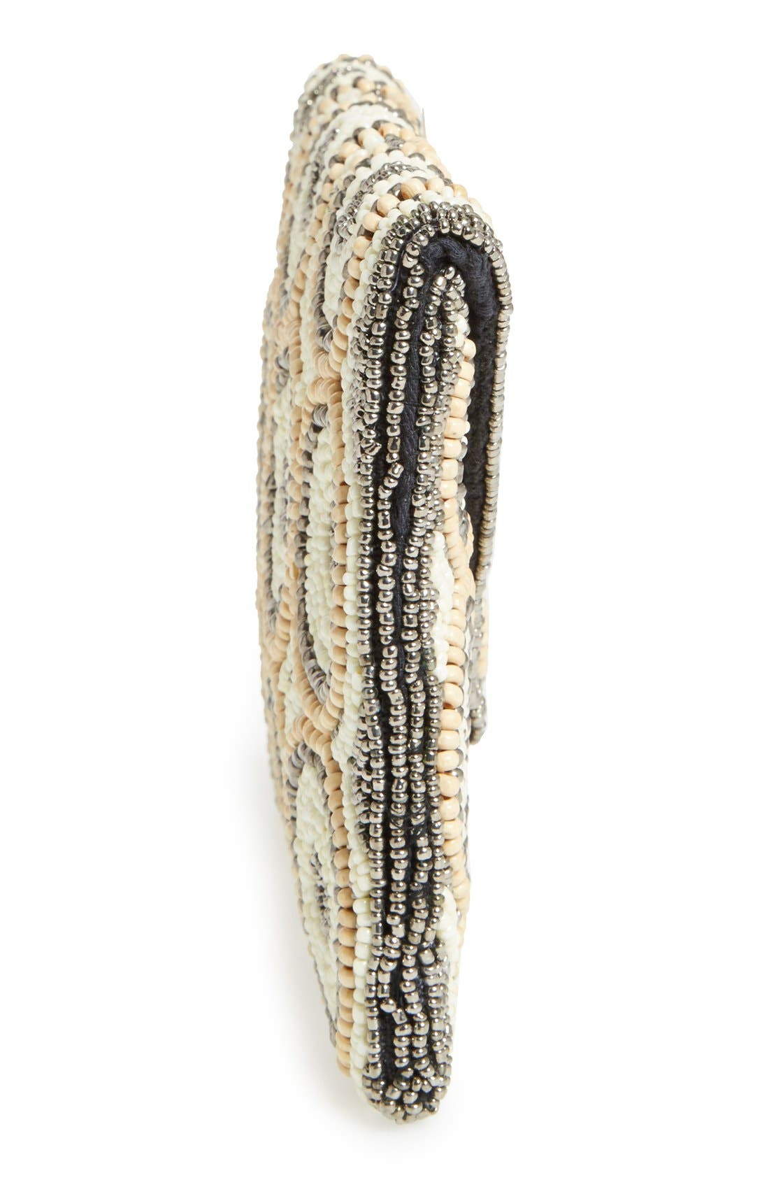 Alternate Image 4  - Natasha Couture Beaded Clutch