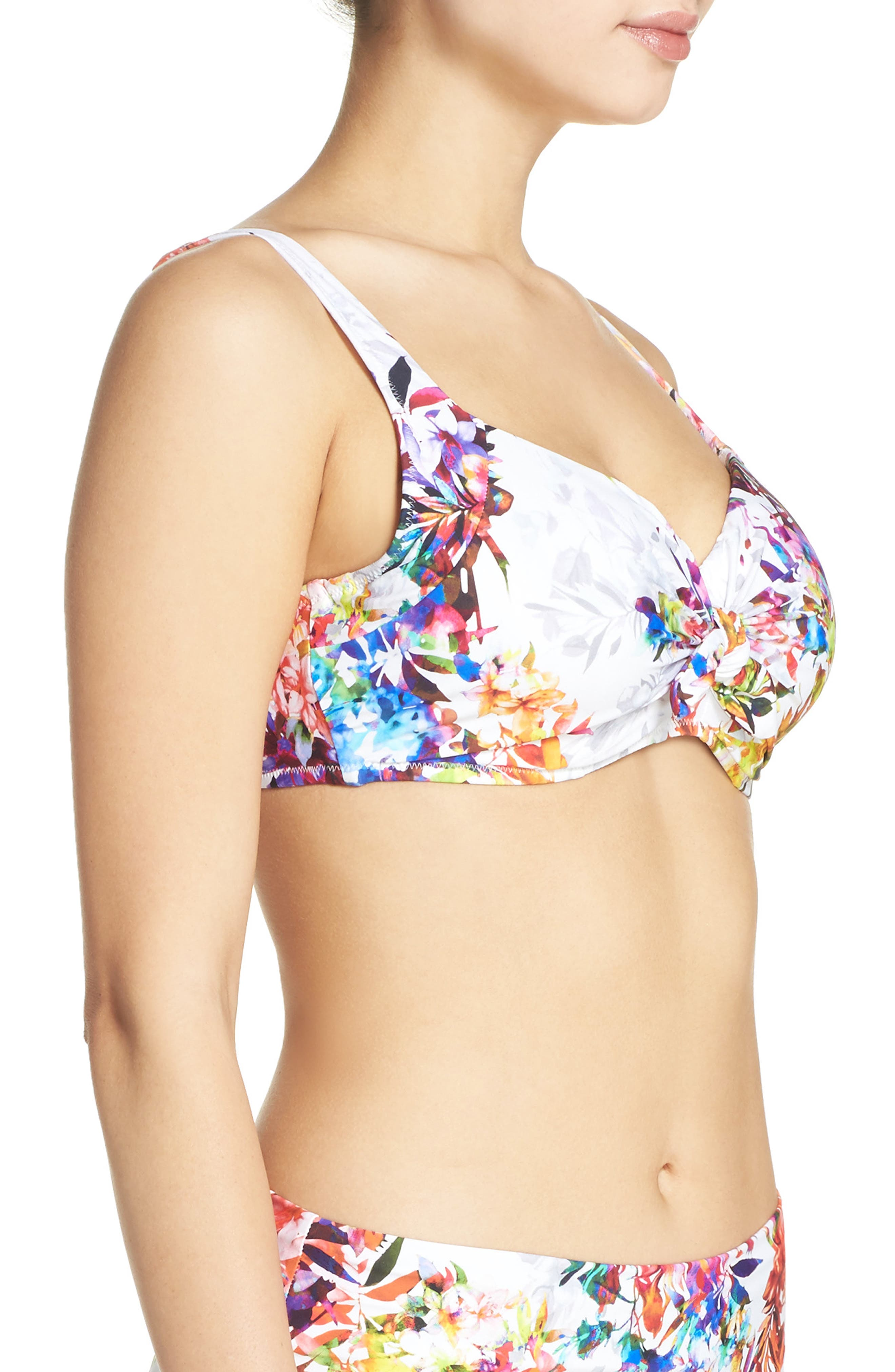 Alternate Image 3  - Fantasie Agra Underwire Bikini Top