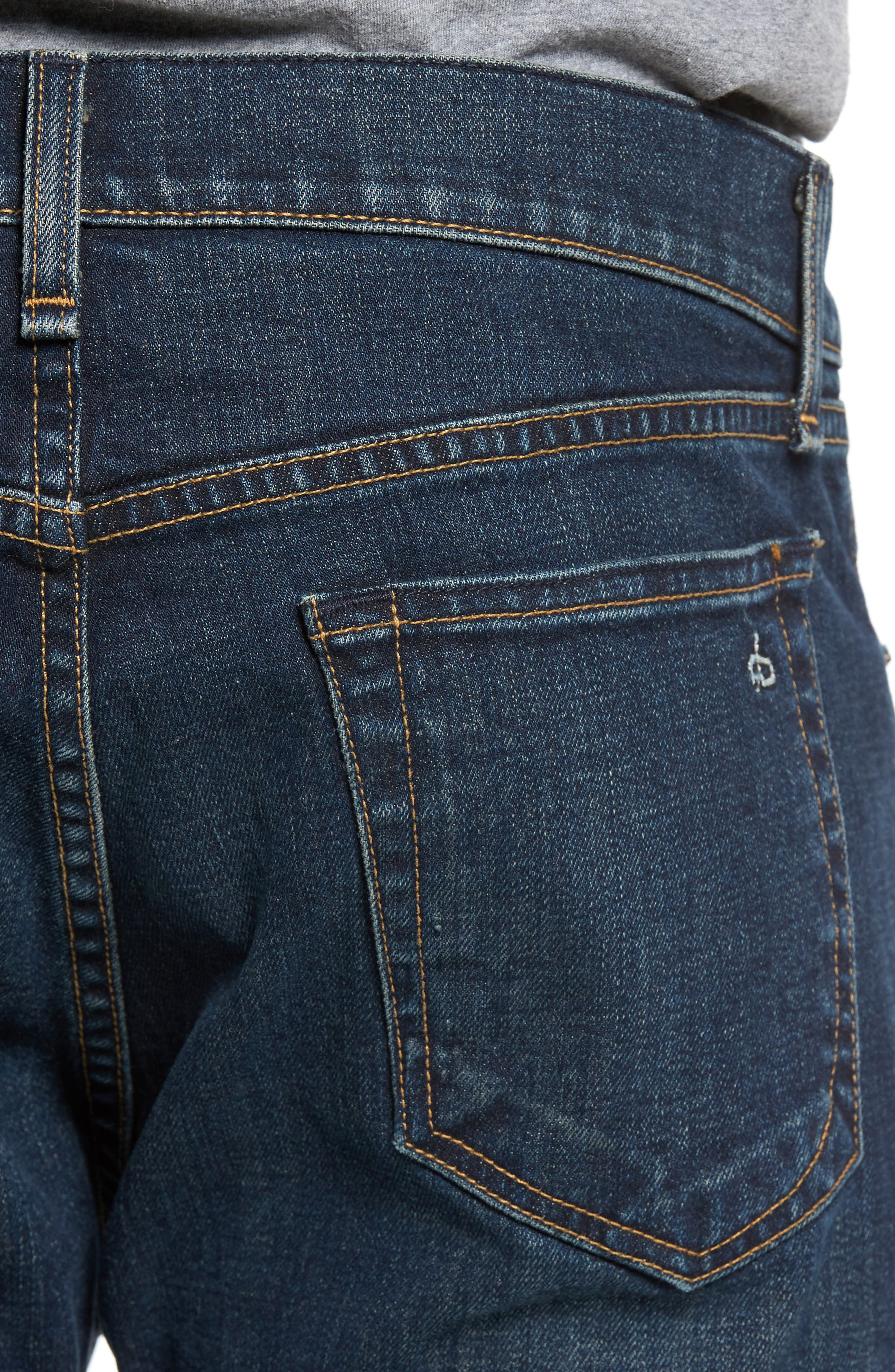 Alternate Image 4  - rag & bone Fit 2 Slim Fit Jeans (Plattsburg)