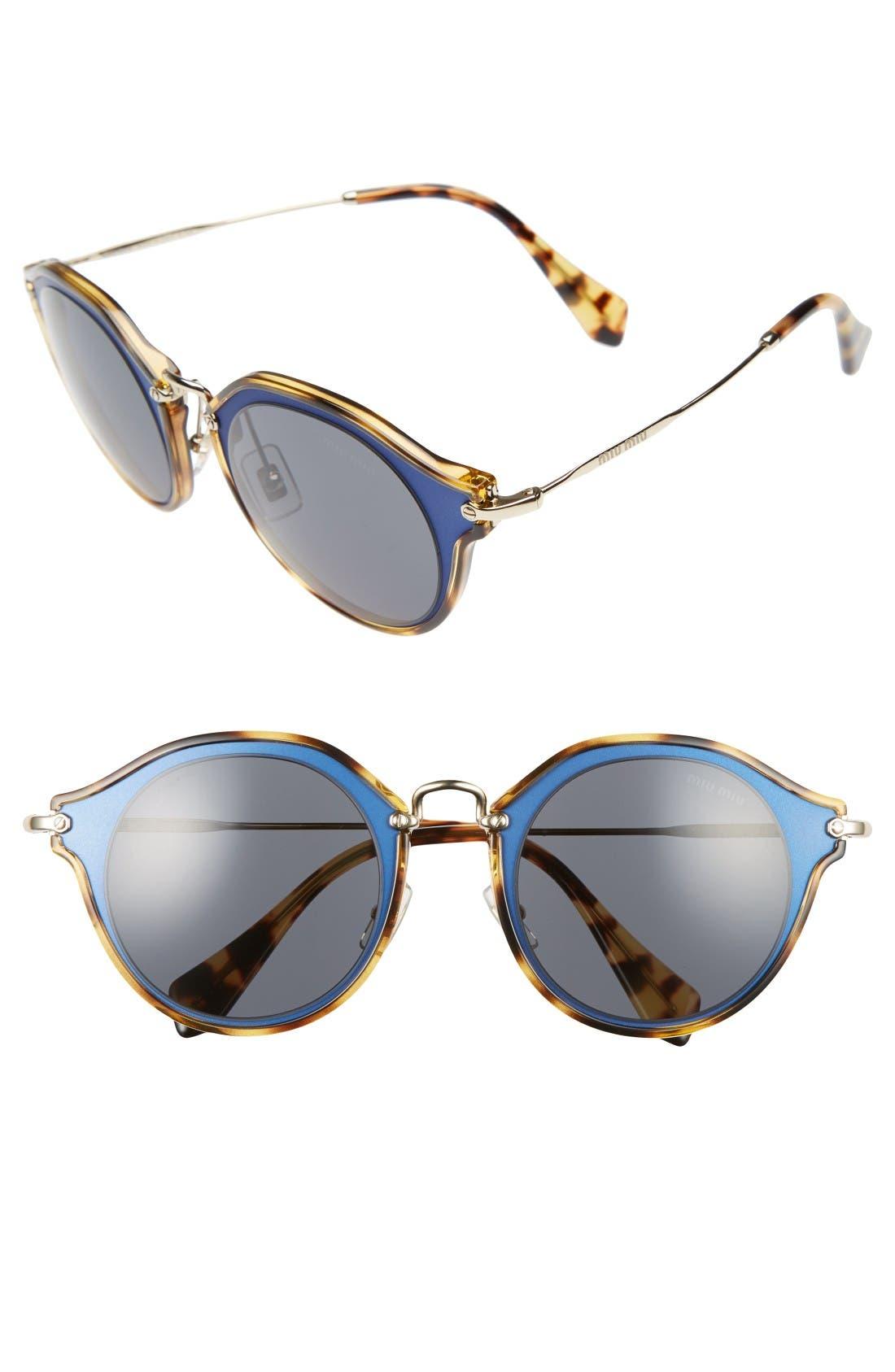 Alternate Image 1 Selected - Miu Miu 49mm Sunglasses