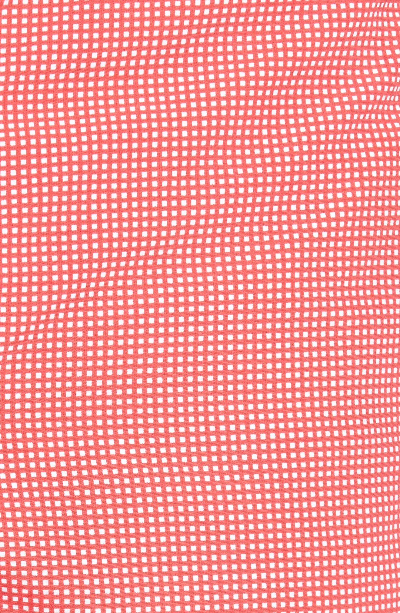 Alternate Image 4  - boto Aruba Micro Check Tailored Fit 6.5 Inch Swim Trunks