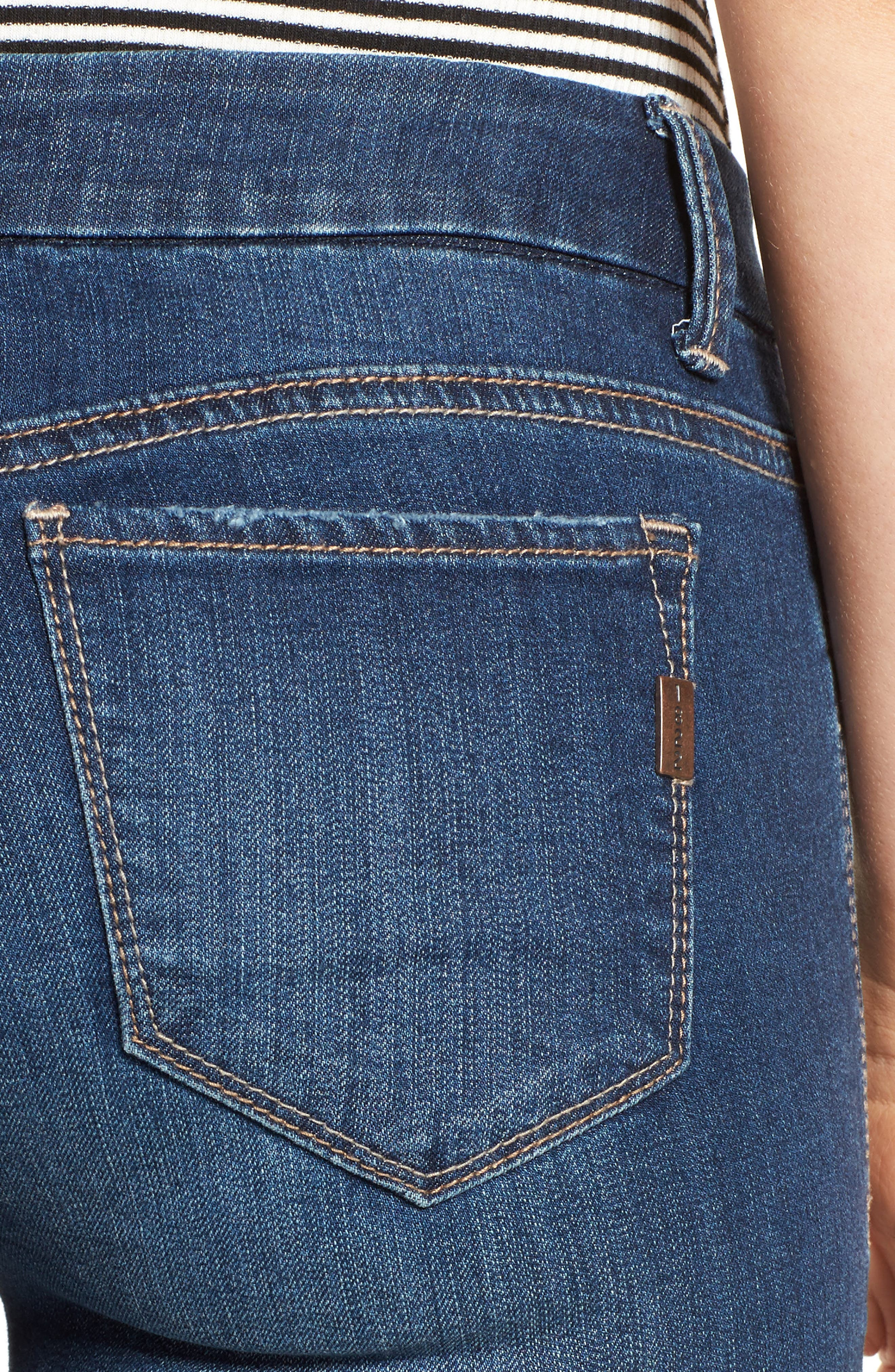 Alternate Image 4  - 1822 Denim Ankle Skinny Jeans (Athens)