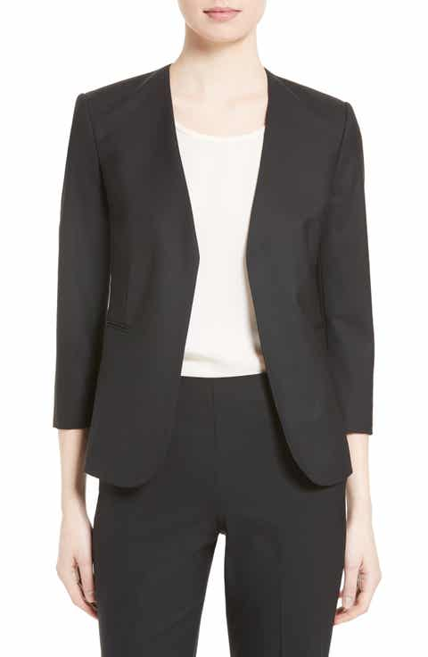 Theory Lindrayia B Good Wool Suit Jacket (Nordstrom Exclusive) Best Price