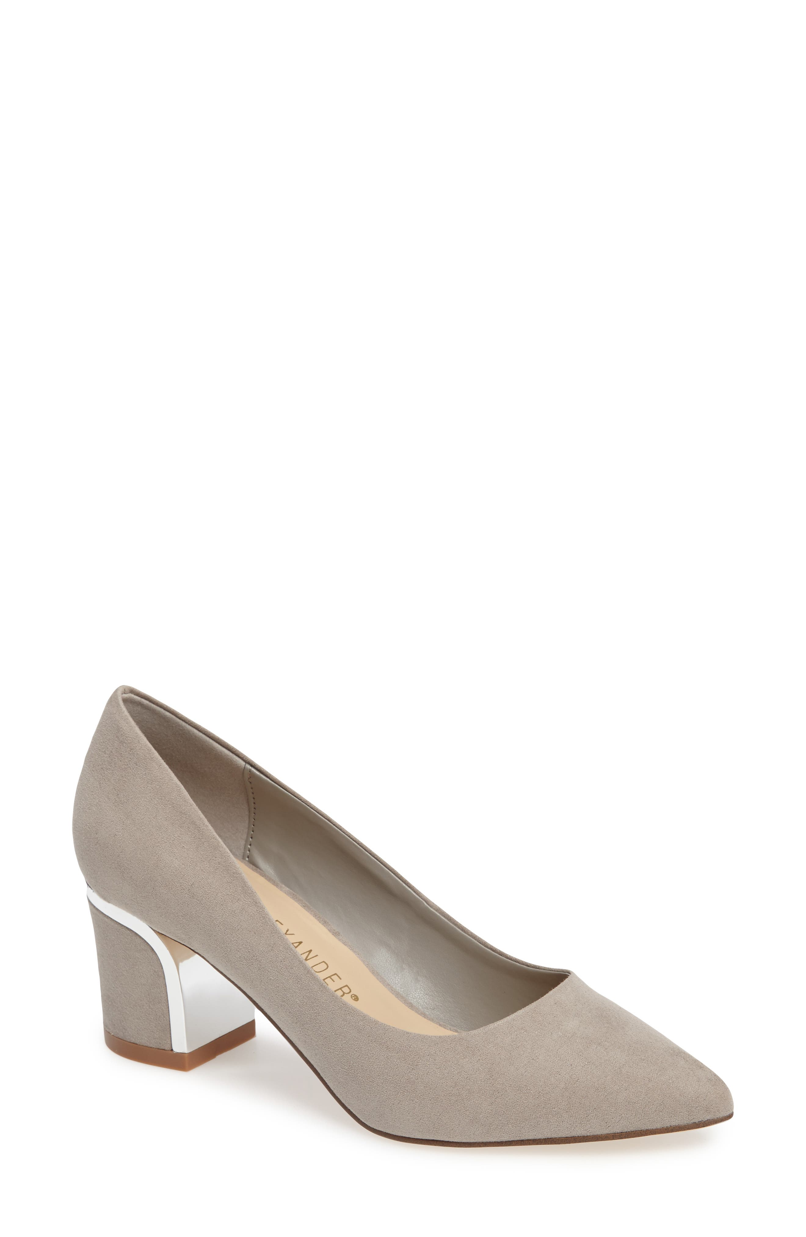Athena Alexander Zabel Embellished Block Heel Pump (Women)