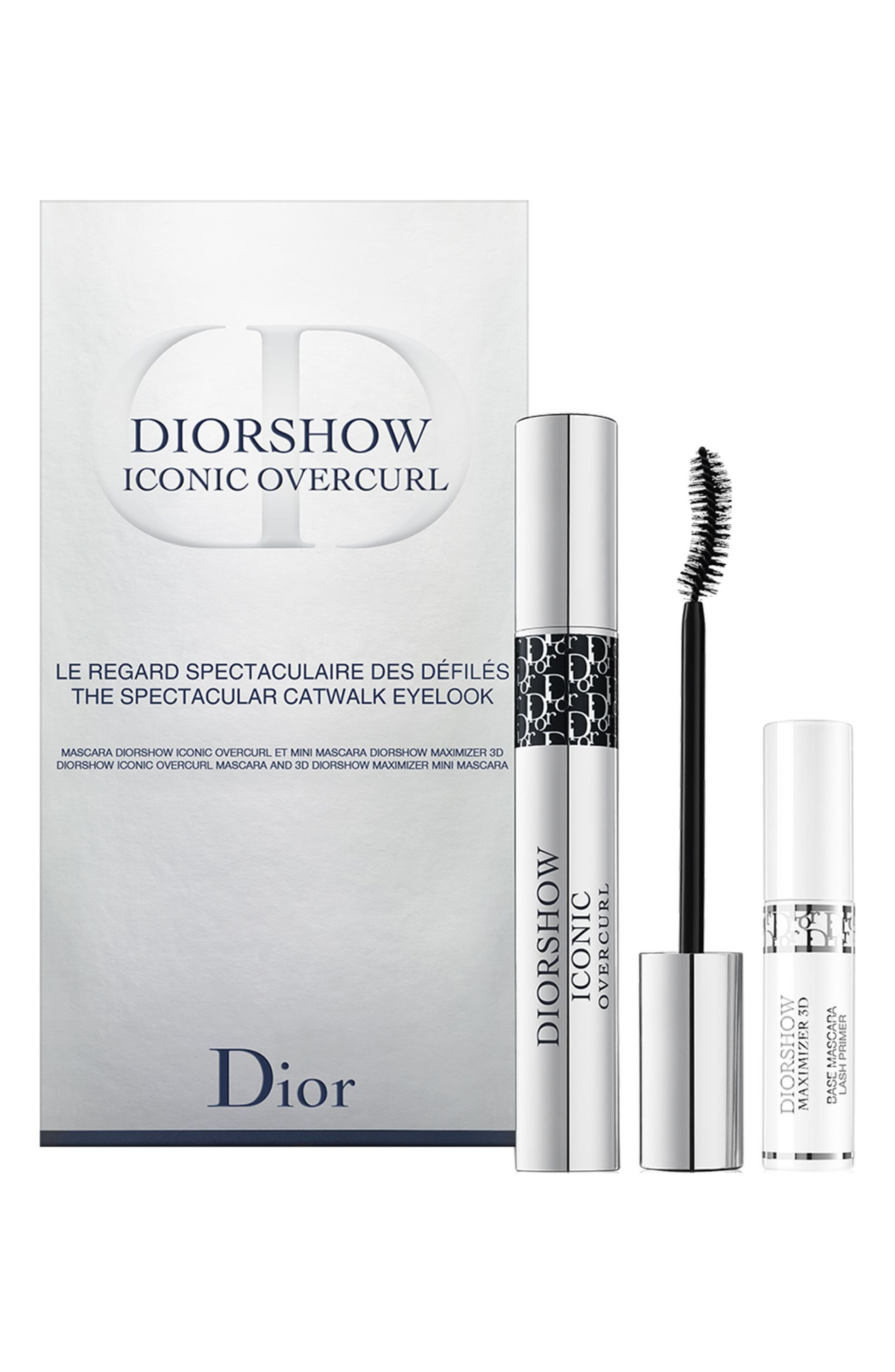 Diorshow Iconic Overcurl The Spectacular Catwalk Mascara Set,                         Main,                         color, No Color