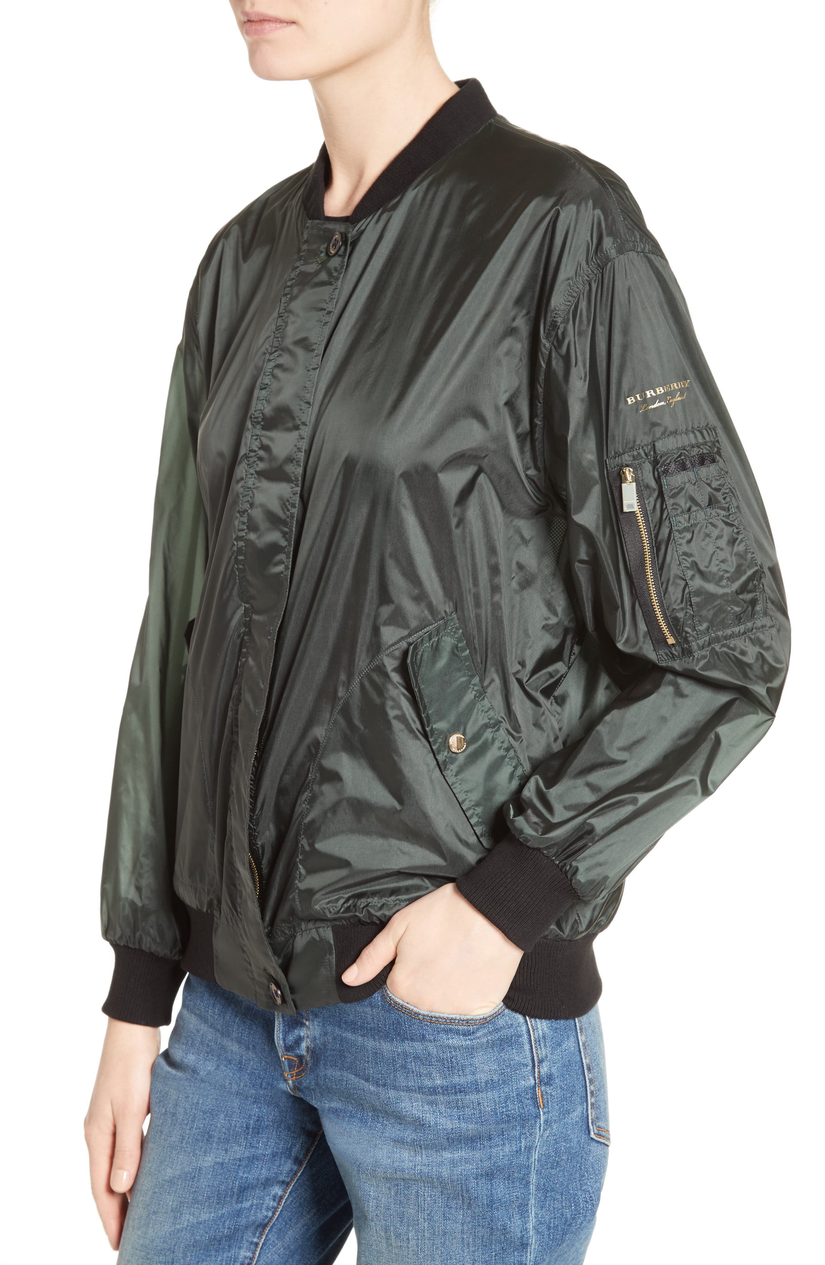 Alternate Image 6  - Burberry Mayther Technical Bomber