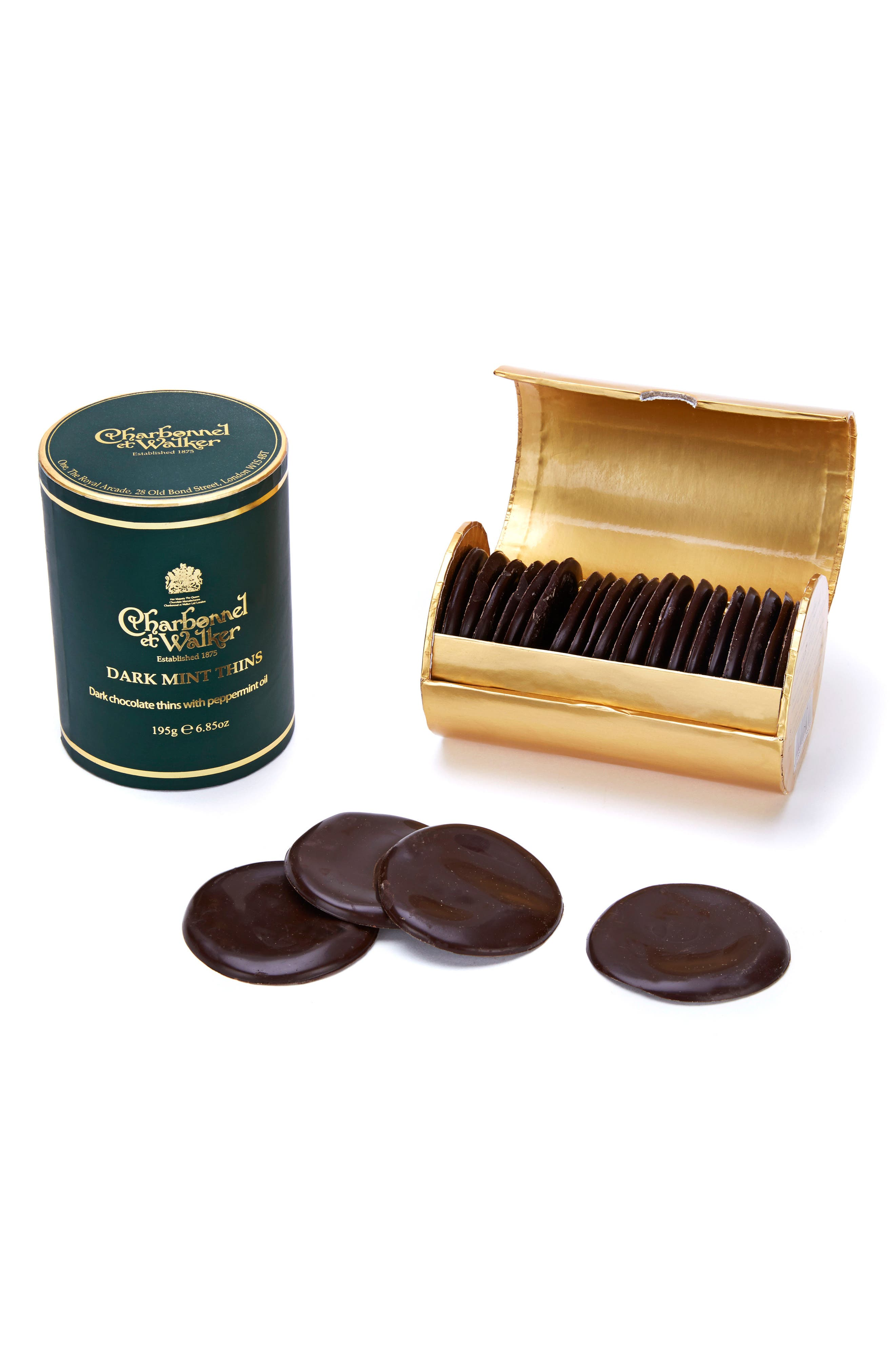 Alternate Image 1 Selected - Charbonnel et Walker Flavored Chocolate Thins
