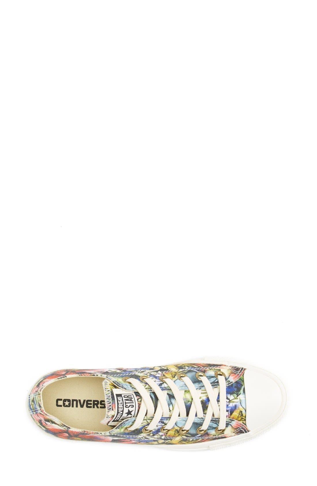 Alternate Image 3  - Converse Chuck Taylor® Floral Print Sneaker (Women)