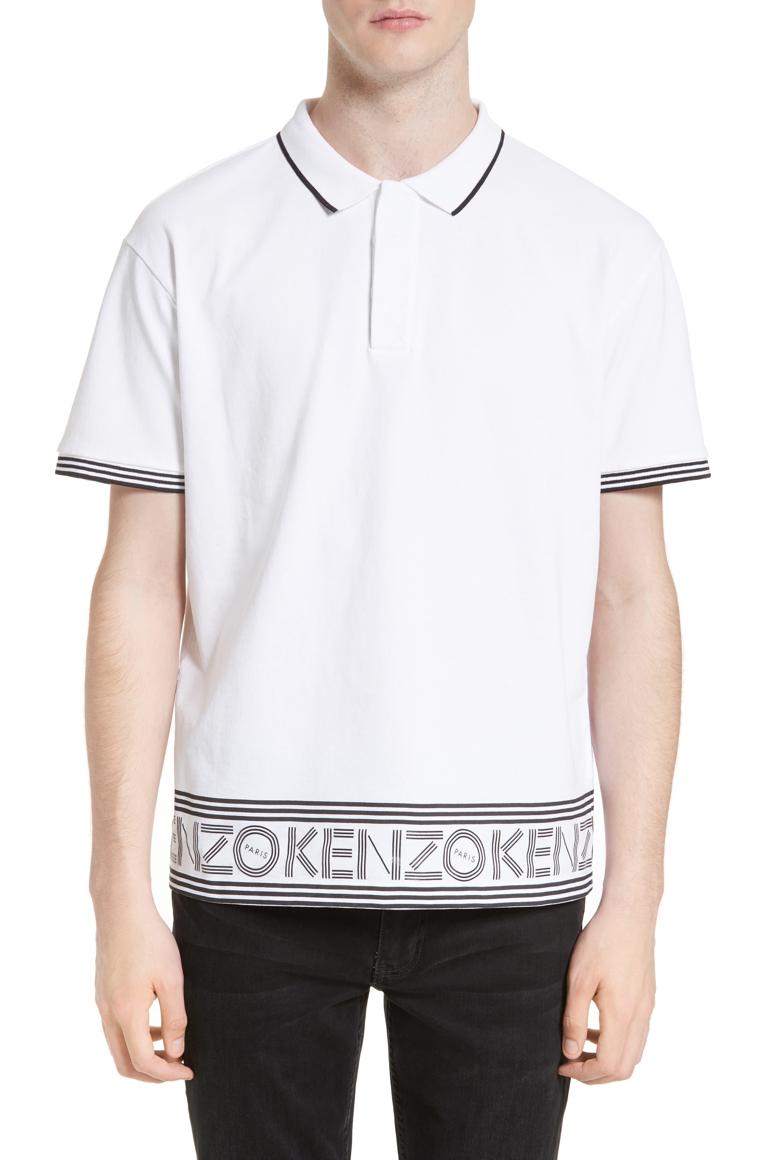 all white kenzo jumper