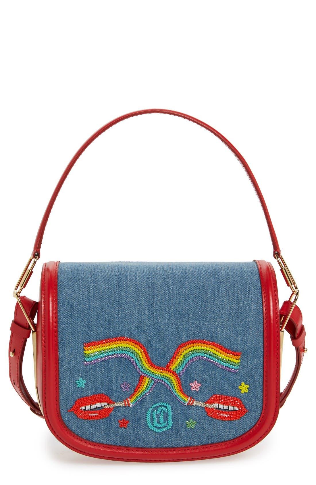 Dutchies Crossbody Bag,                             Main thumbnail 1, color,                             Blue