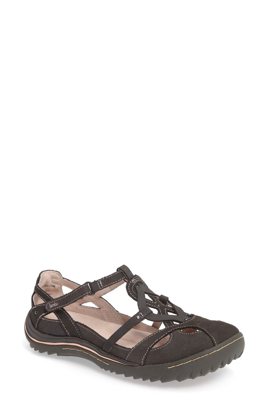 Spain Studded Strappy Sneaker,                         Main,                         color, Grey