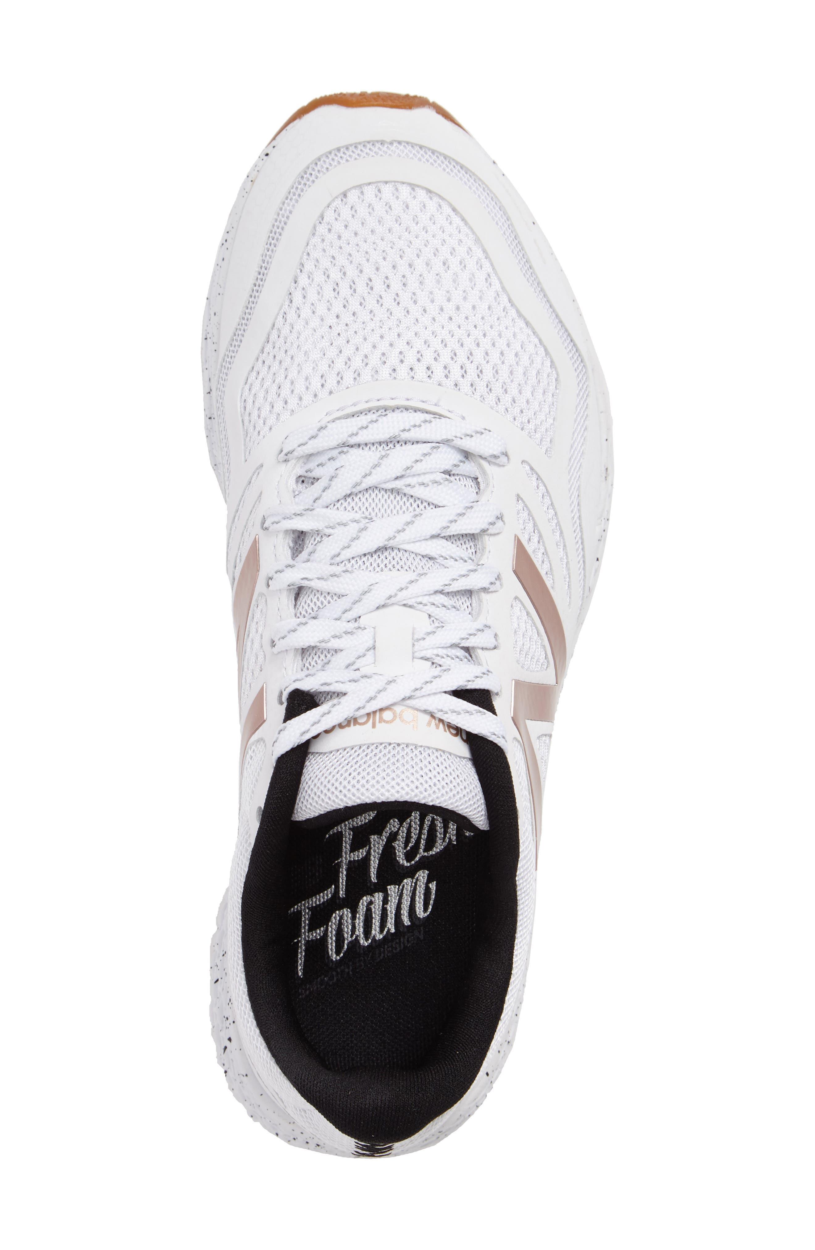 Gobi Fresh Foam Trail Running Shoe,                             Alternate thumbnail 3, color,                             White