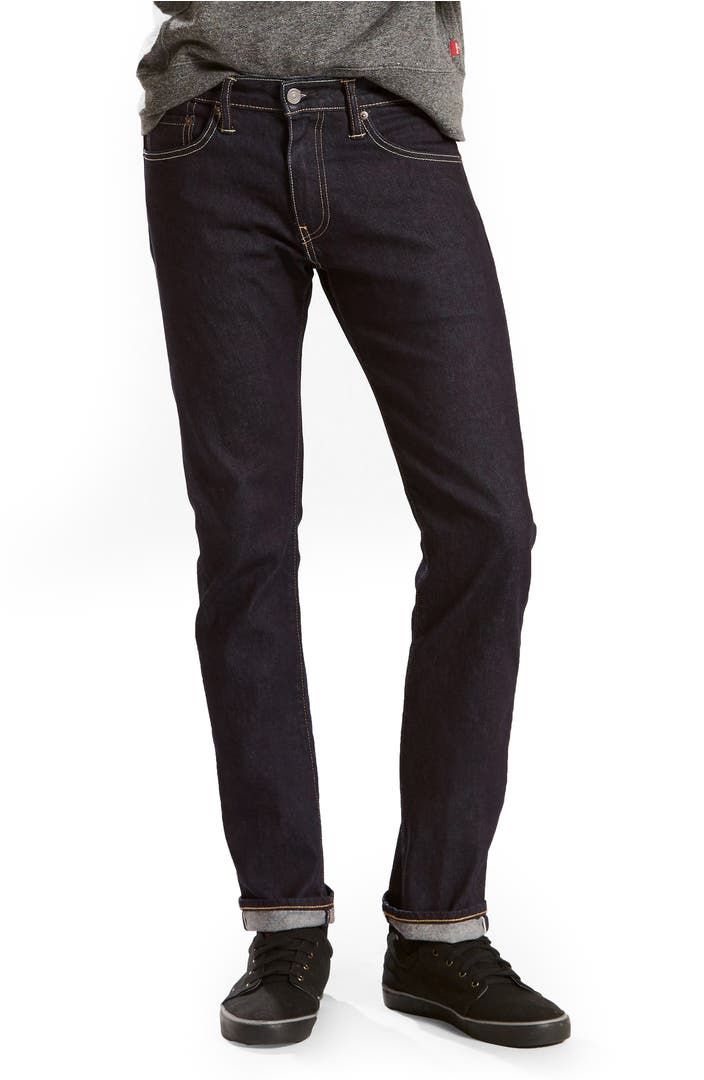 levi 39 s 511 slim fit jeans selvedge stirline nordstrom. Black Bedroom Furniture Sets. Home Design Ideas