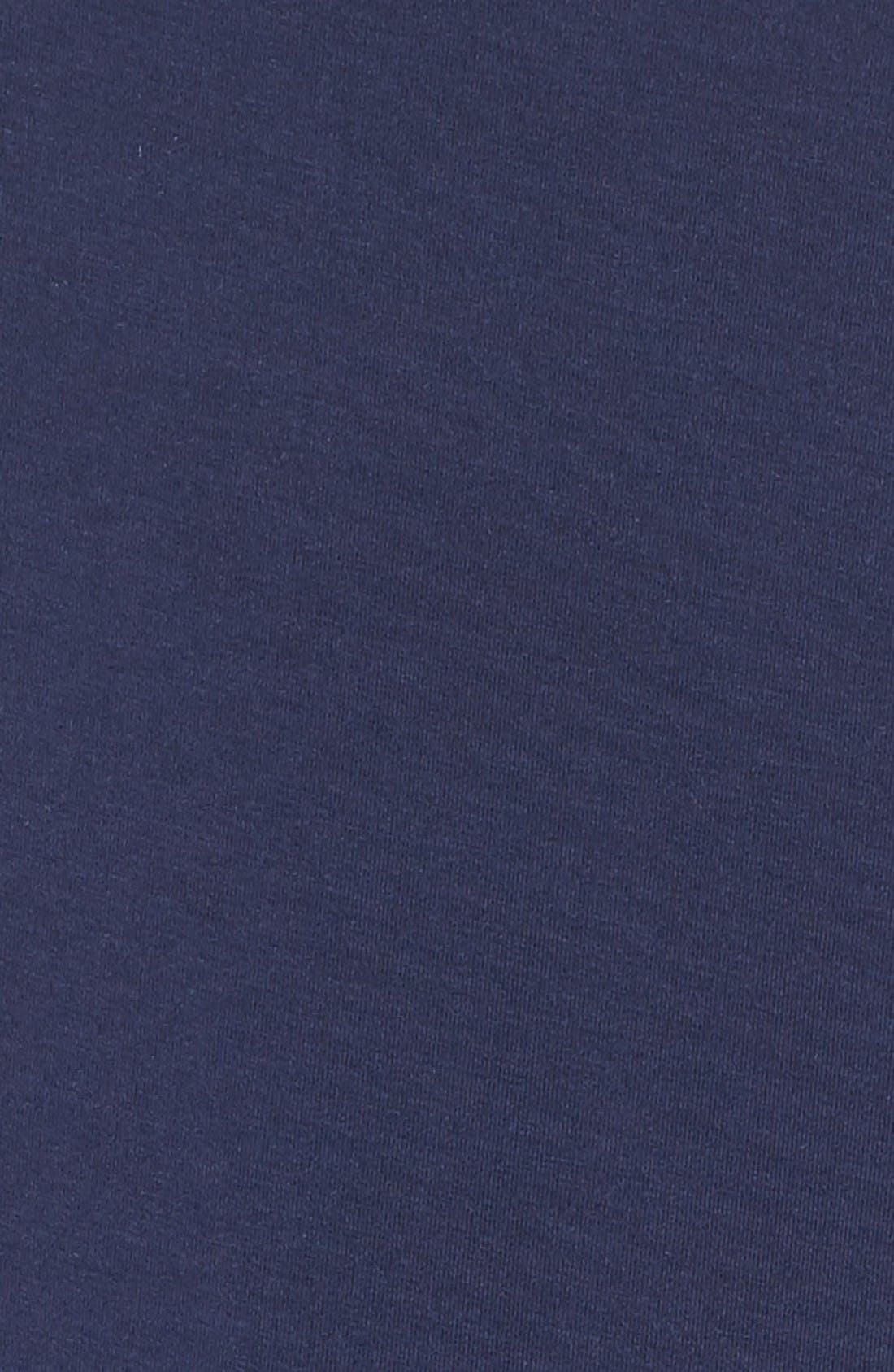 Stretch Modal Pajamas,                             Alternate thumbnail 2, color,                             Peacoat Blue