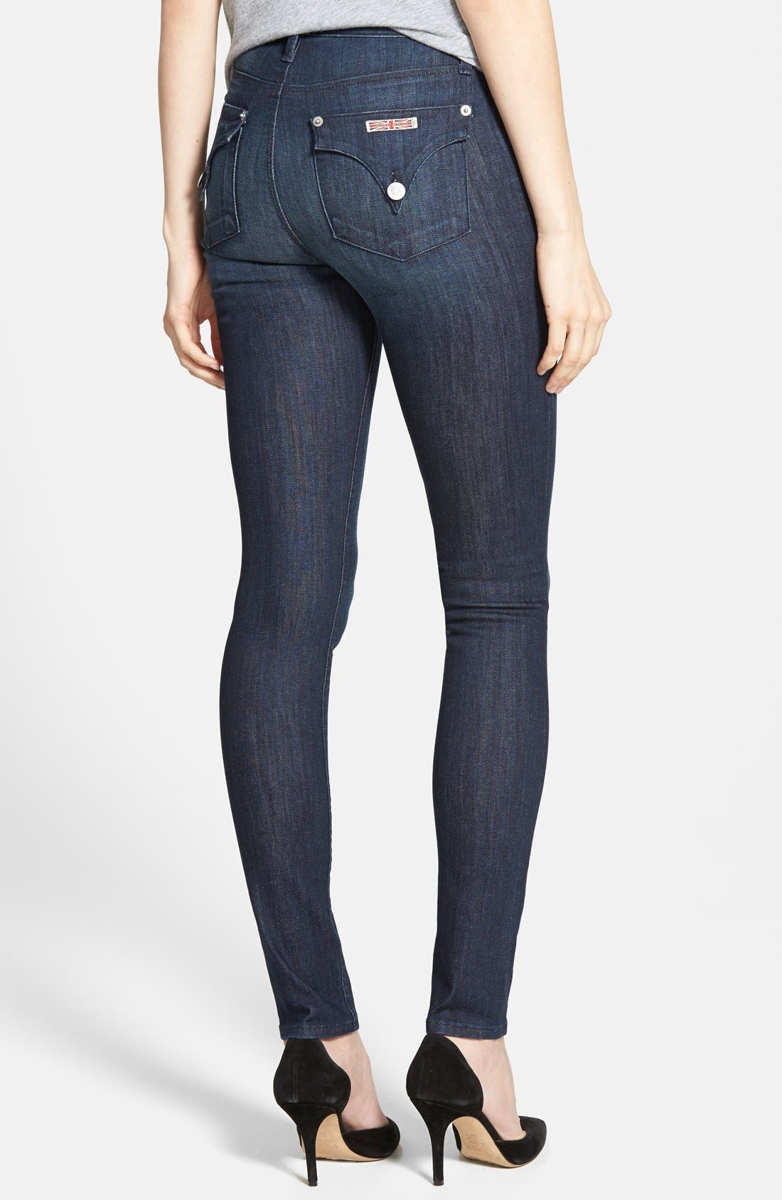 Alternate Image 2  - Hudson Jeans 'Lynn' Ultra Skinny Jeans (Stella 2)