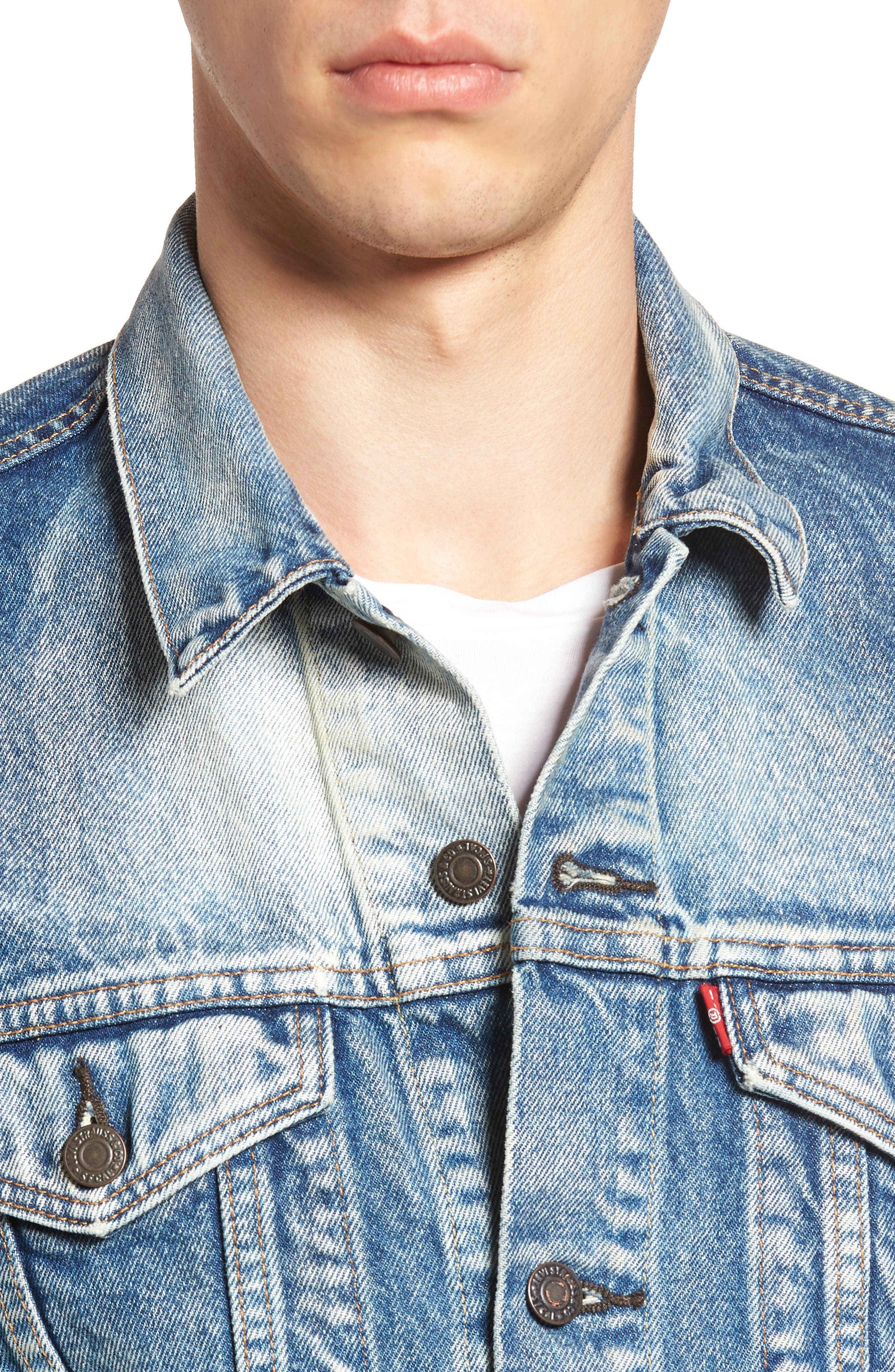 Alternate Image 4  - Levi's® Denim Trucker Jacket