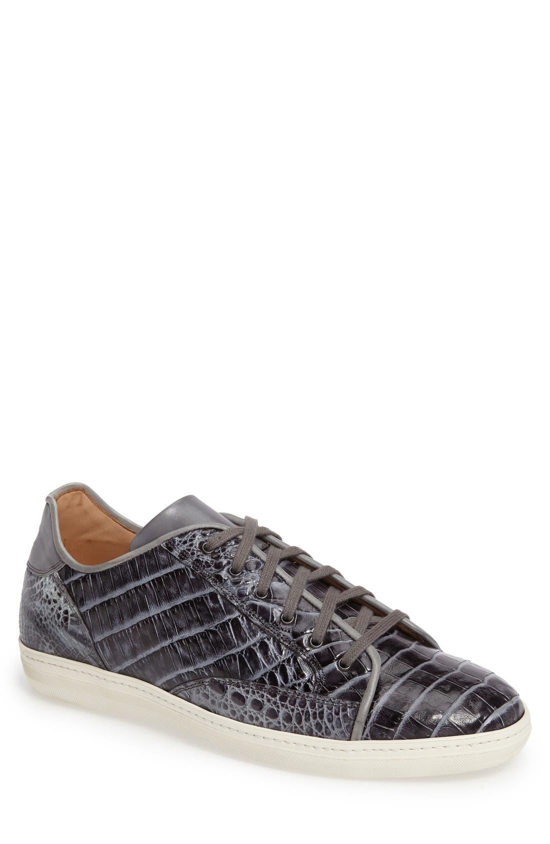 Mezlan Hickman Genuine Crocodile Sneaker (Men)