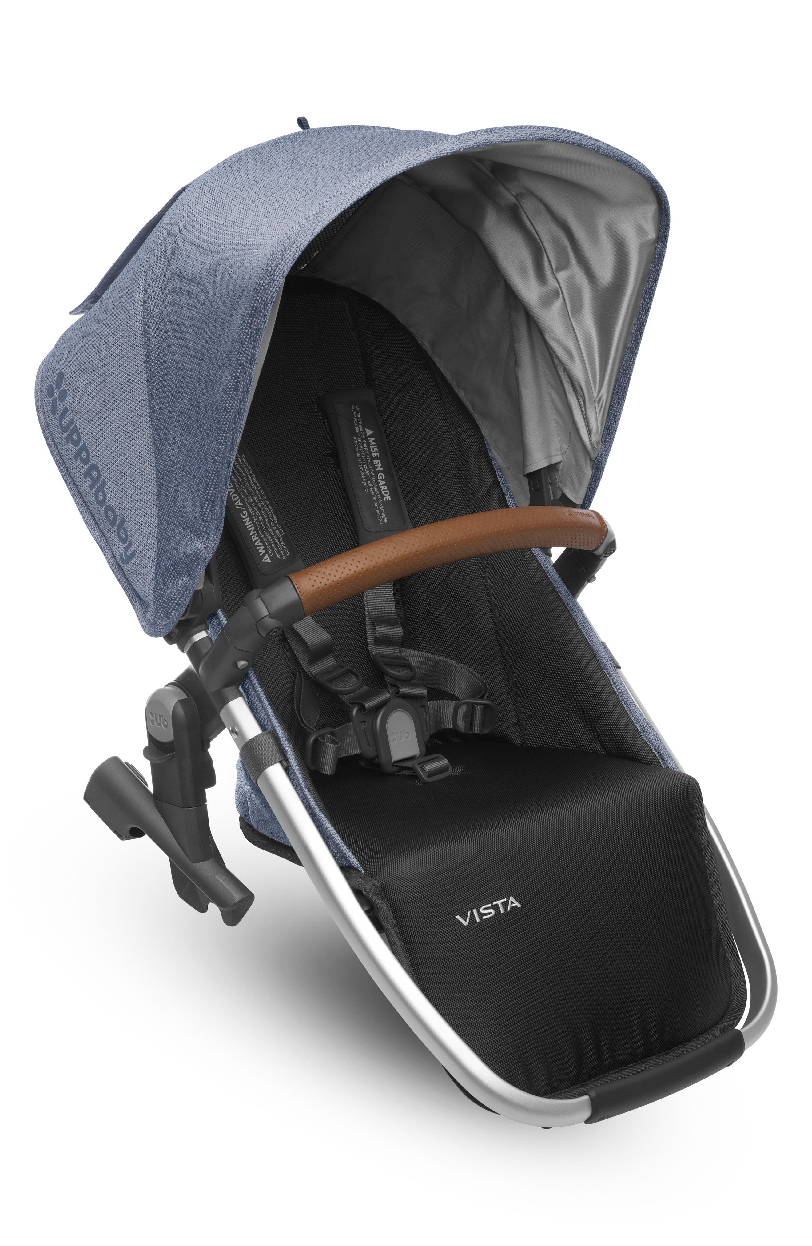2017 Limited Edition Henry Rumble Seat for VISTA Stroller,                         Main,                         color, Blue Marl