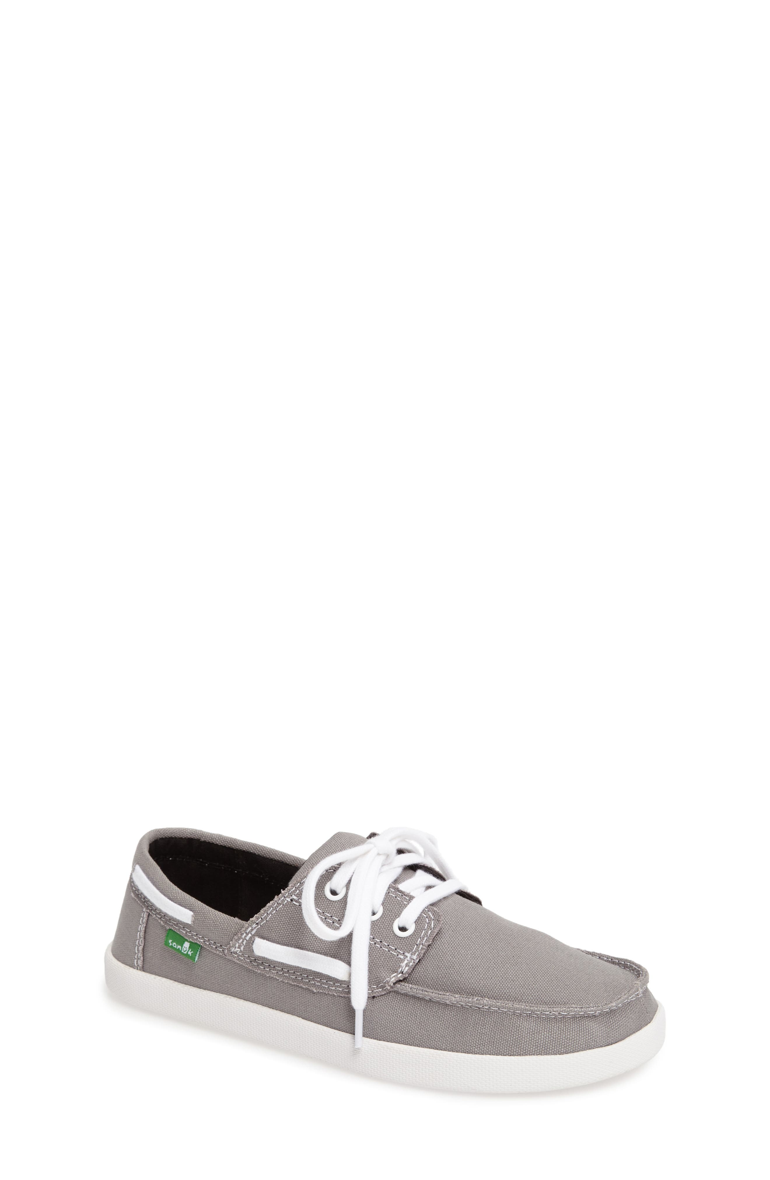 Alternate Image 1 Selected - Sanuk Lil Deck Hand Slip-On Sneaker (Toddler, Little Kid & Big Kid)