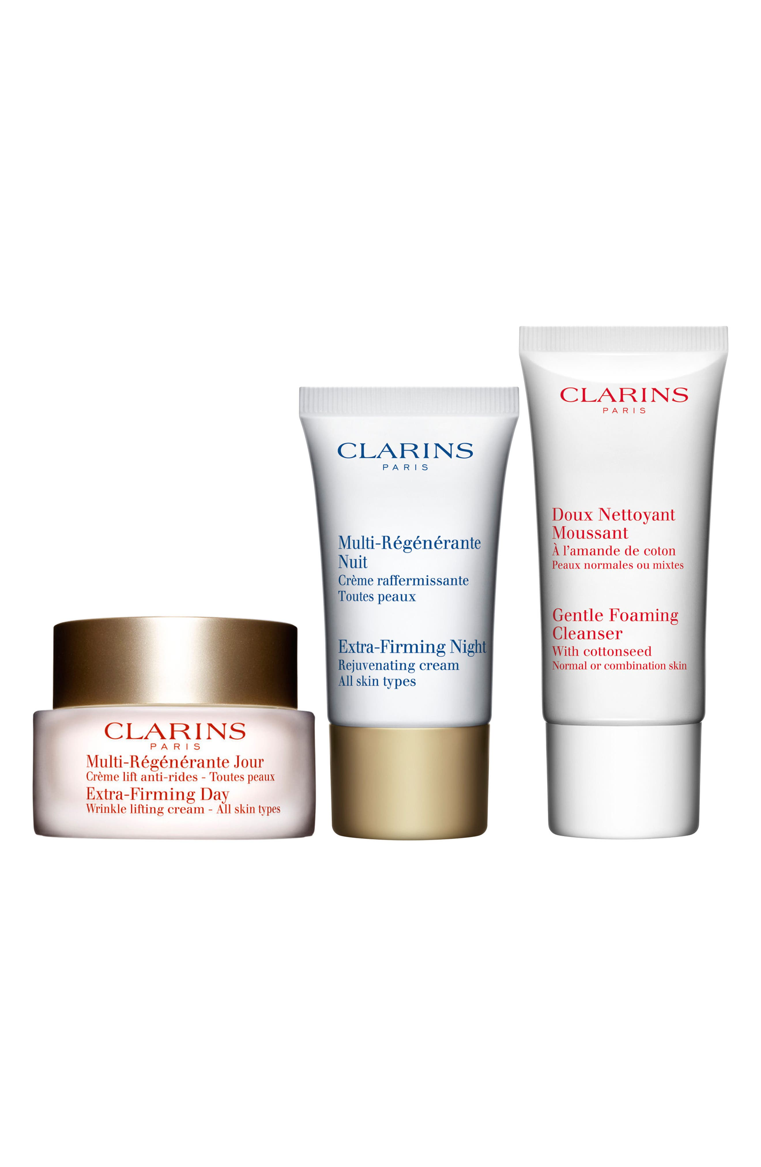 Main Image - Clarins Extra-Firming Skin Starter Kit (Over $121 Value)
