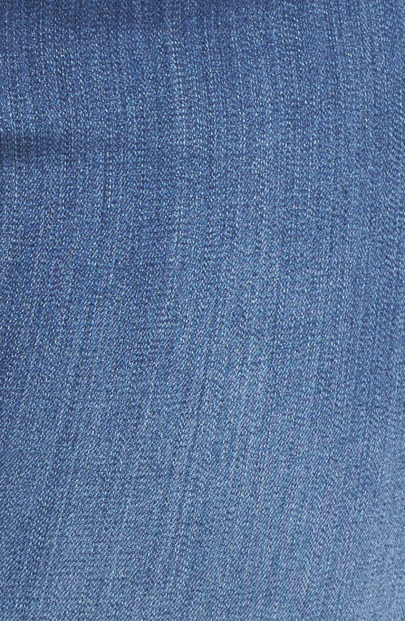 'Ami' Stretch Skinny Jeans,                             Alternate thumbnail 5, color,                             Nantes