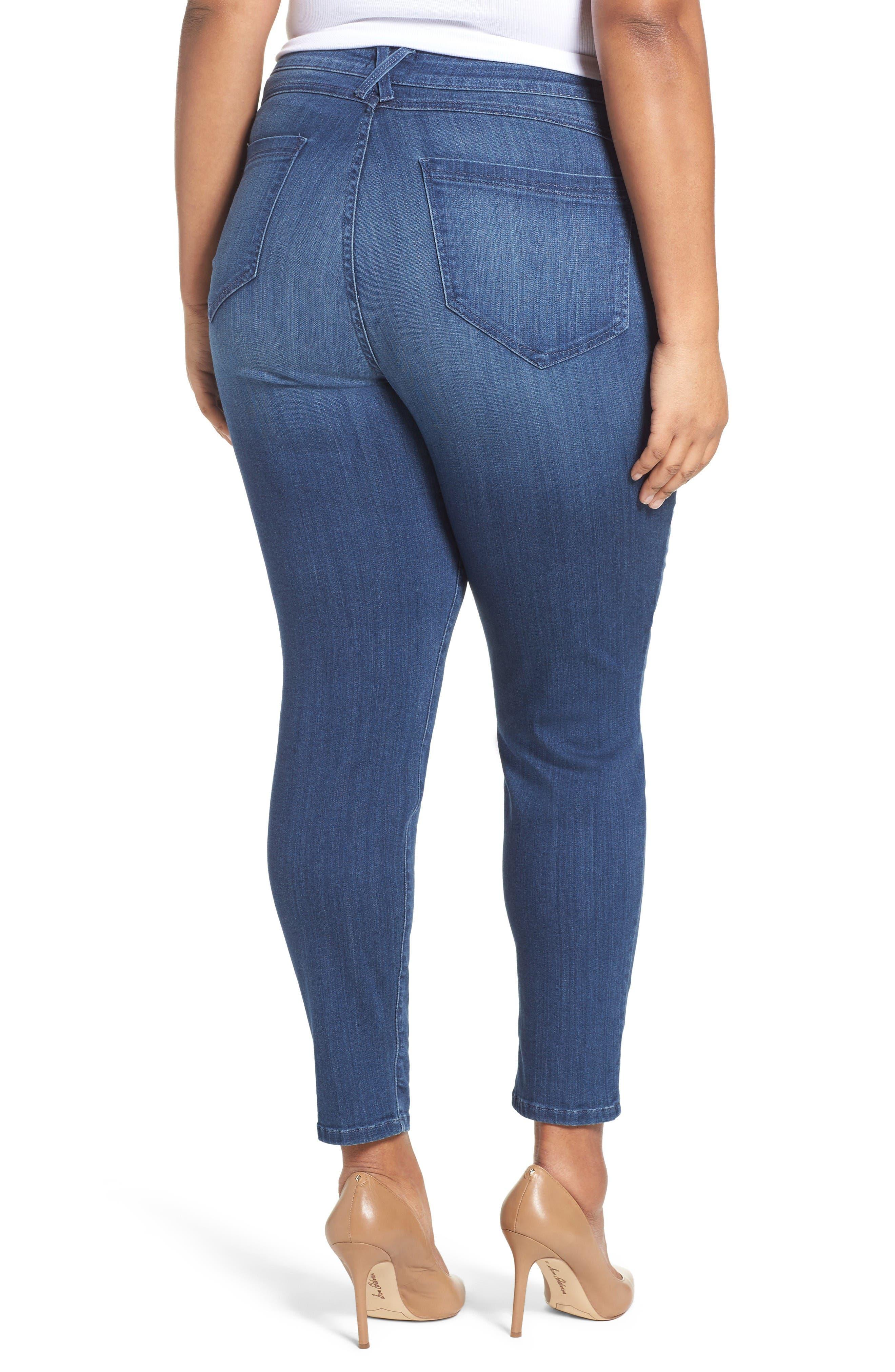 'Ami' Stretch Skinny Jeans,                             Alternate thumbnail 2, color,                             Nantes