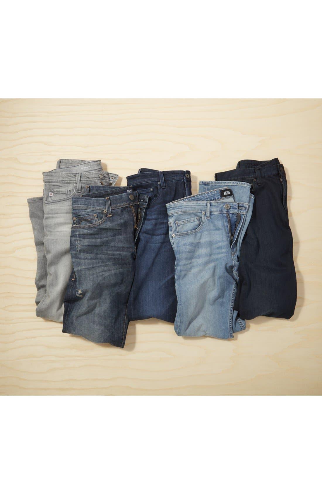 Alternate Image 6  - AG Tellis Slim Fit Jeans (Kast)