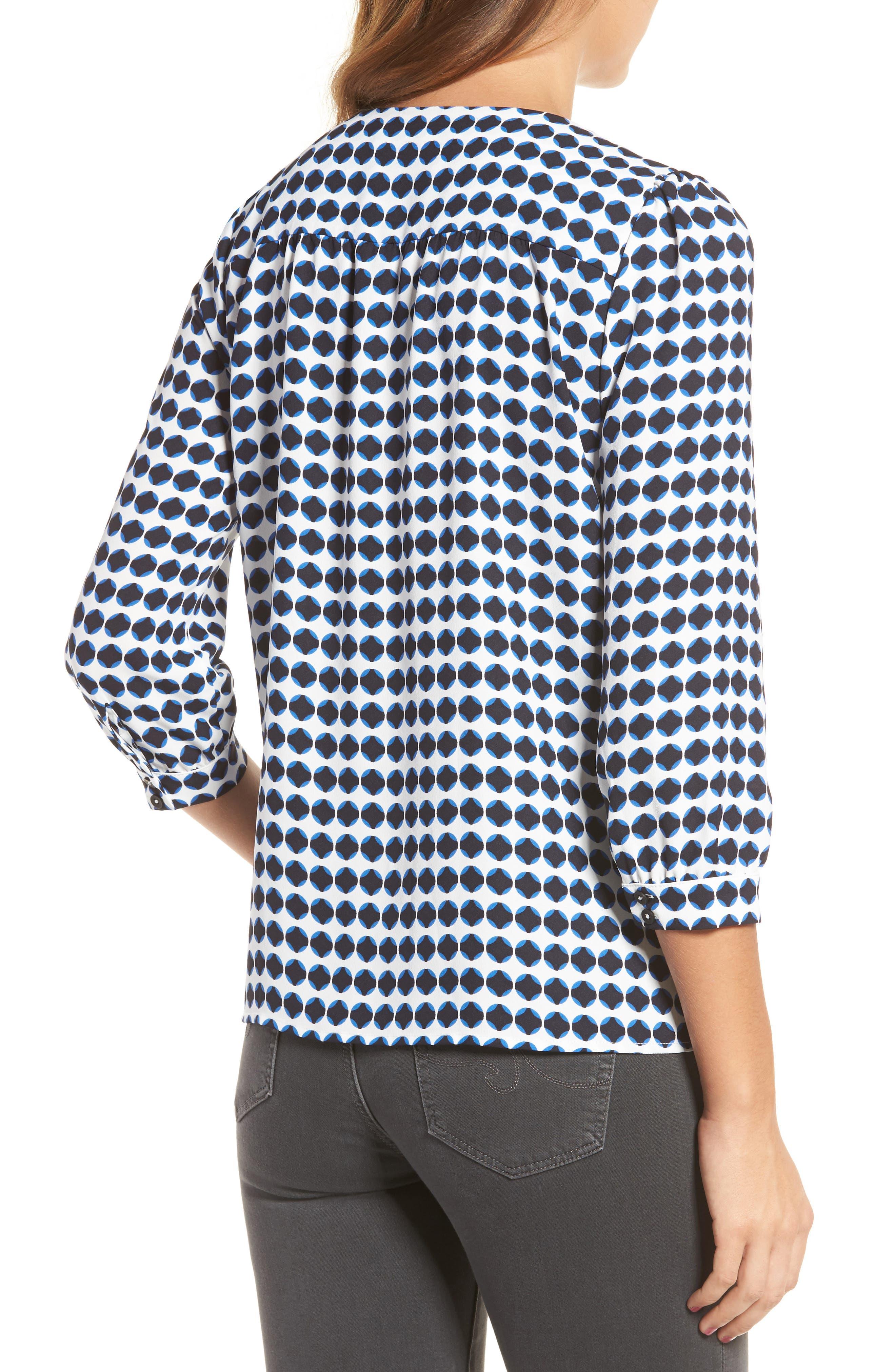 Alternate Image 2  - cooper & ella Valentine Tie Front Blouse
