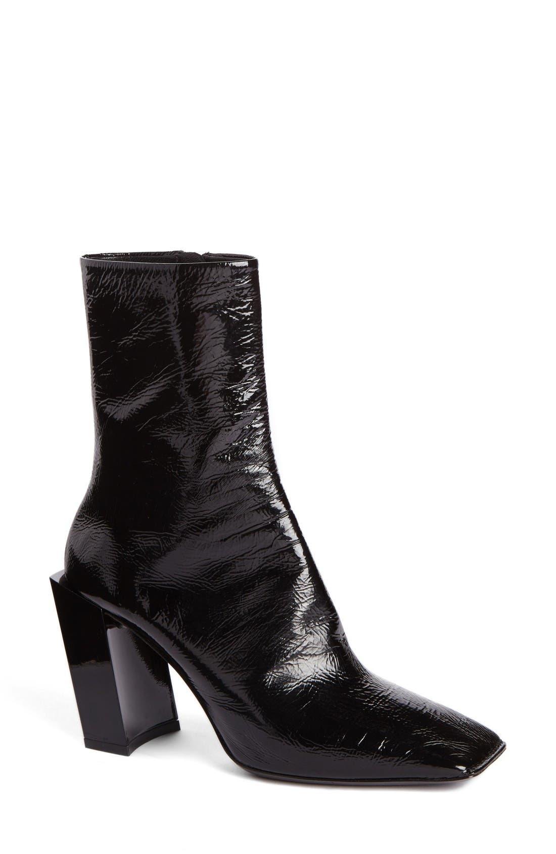 Alternate Image 1 Selected - Balenciaga Square Toe Boot (Women)