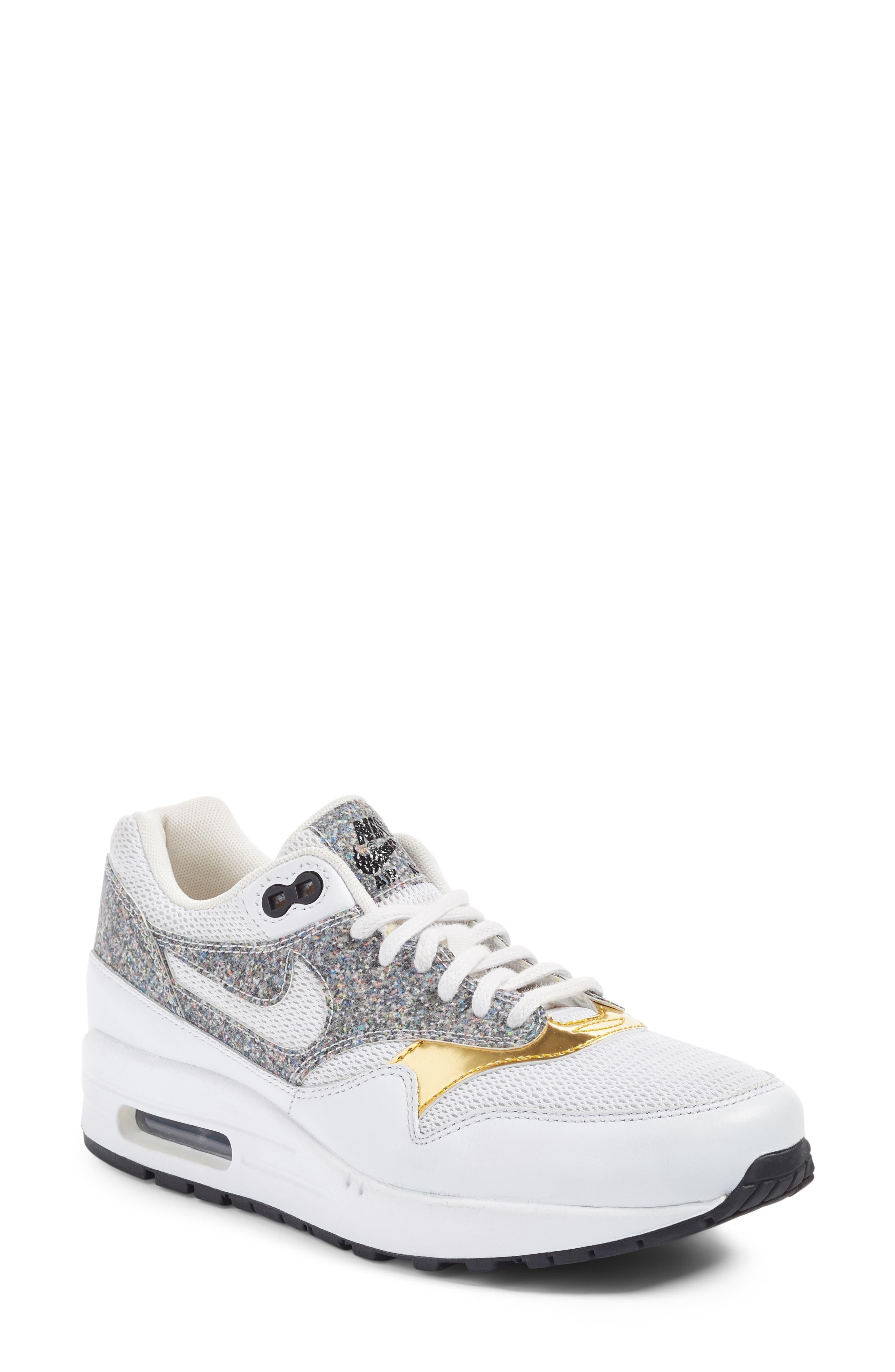 Alternate Image 1 Selected - Nike Air Max 1 SE Sneaker (Women)