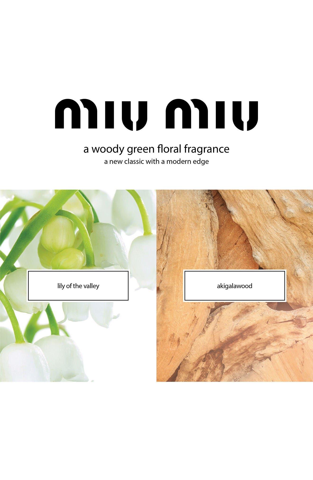 Alternate Image 5  - Miu Miu L'Eau Bleue Eau de Parfum