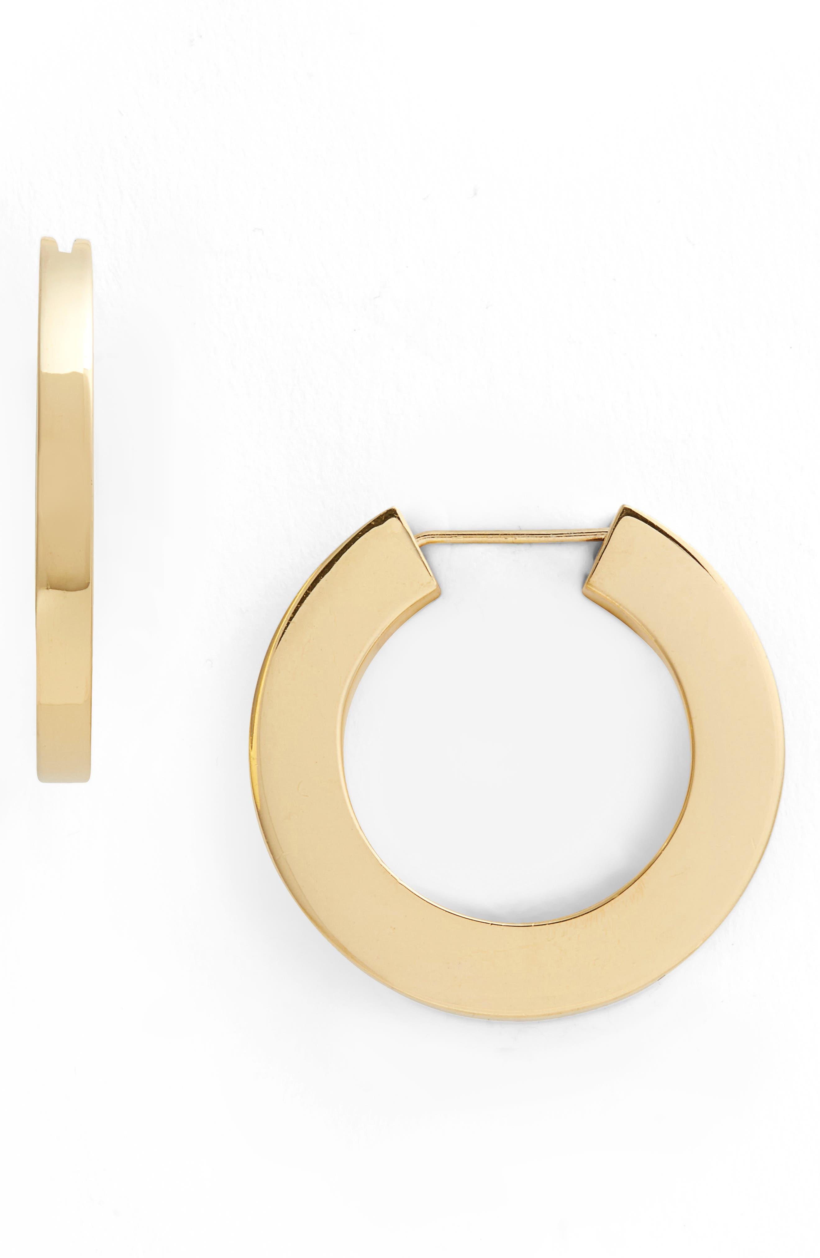 Sophie Buhai Classic Vermeil Hoop Earrings