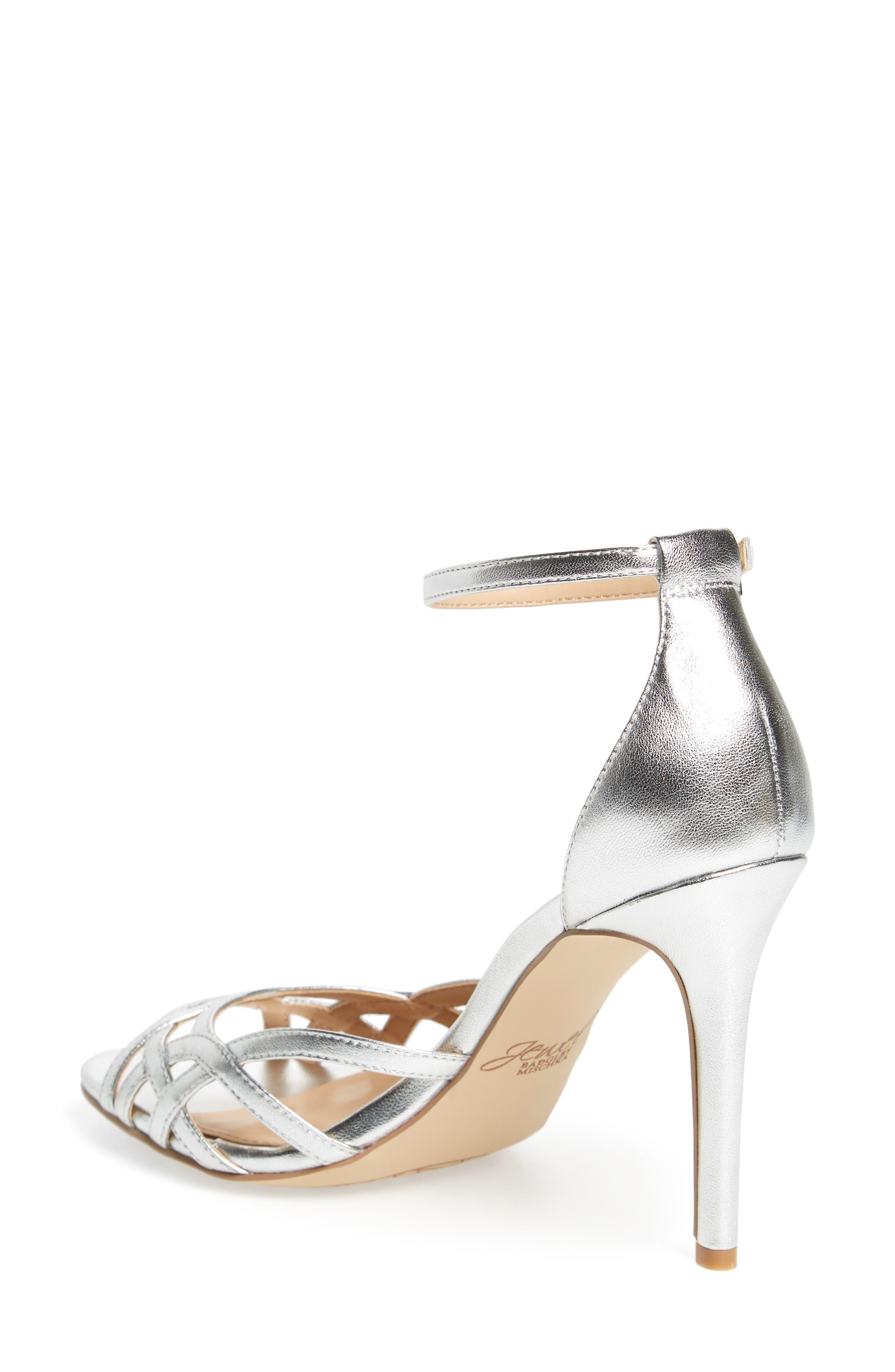 Alternate Image 2  - Jewel Badgley Mischka Haskell II Strappy Sandal (Women)