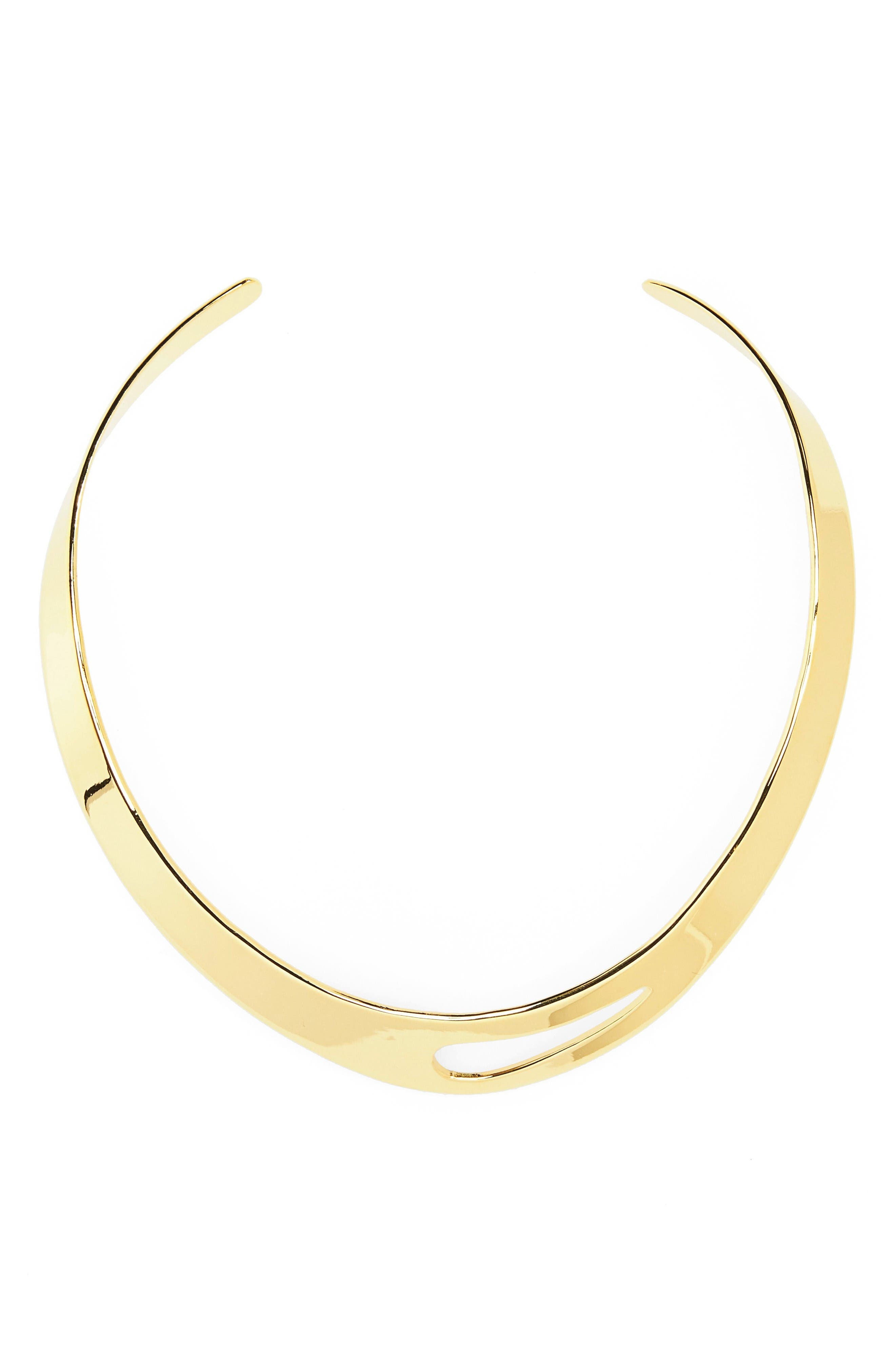Argento Vivo Cutout Collar Necklace
