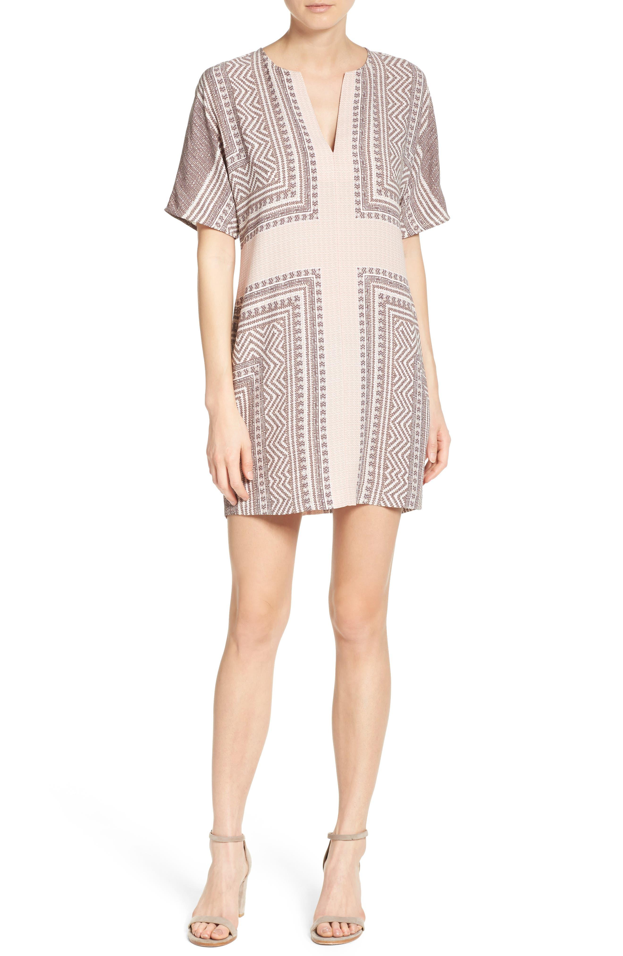 Alternate Image 4  - BCBGMAXAZRIA Scarf Print Dress