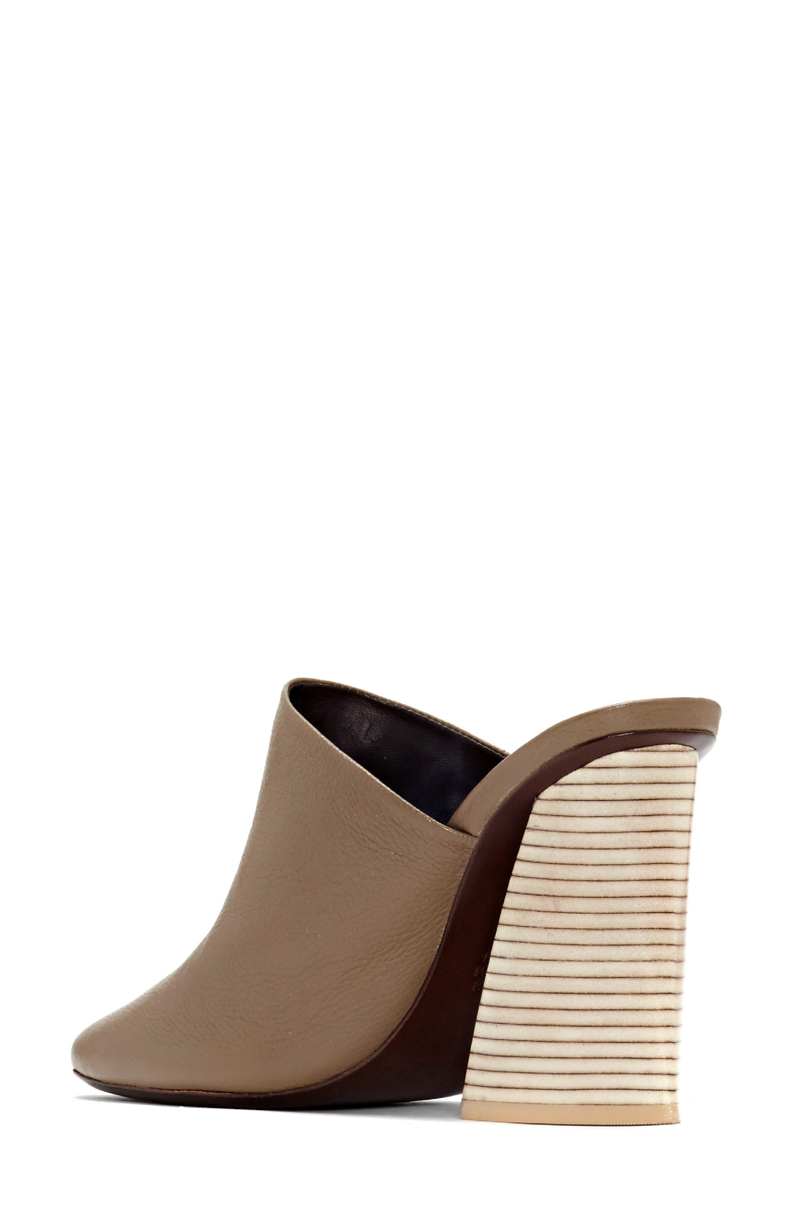 Aria Mule,                             Alternate thumbnail 2, color,                             Taupe