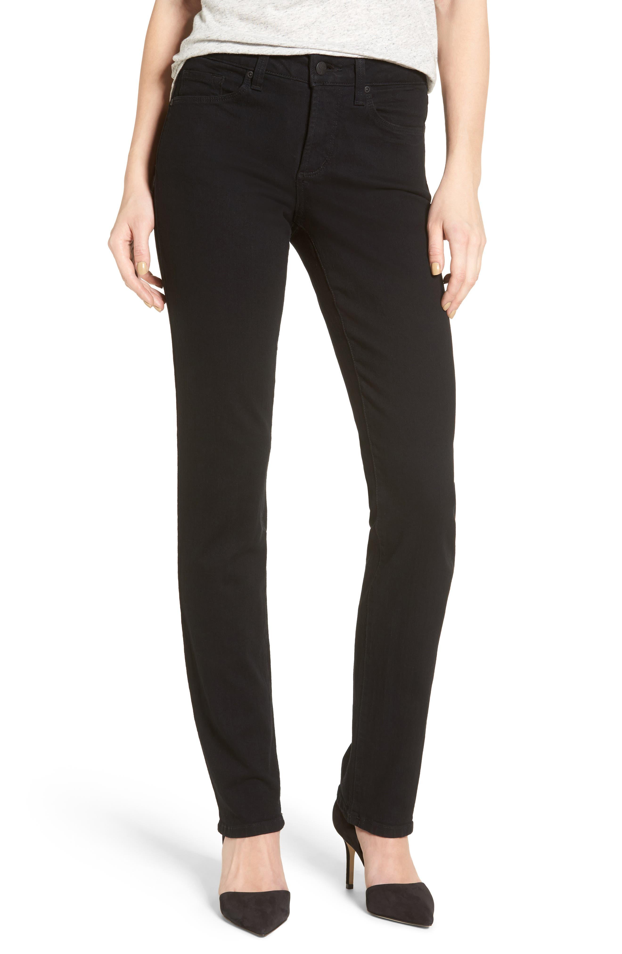 Alternate Image 1 Selected - NYDJ Sheri Stretch Skinny Jeans (Long)