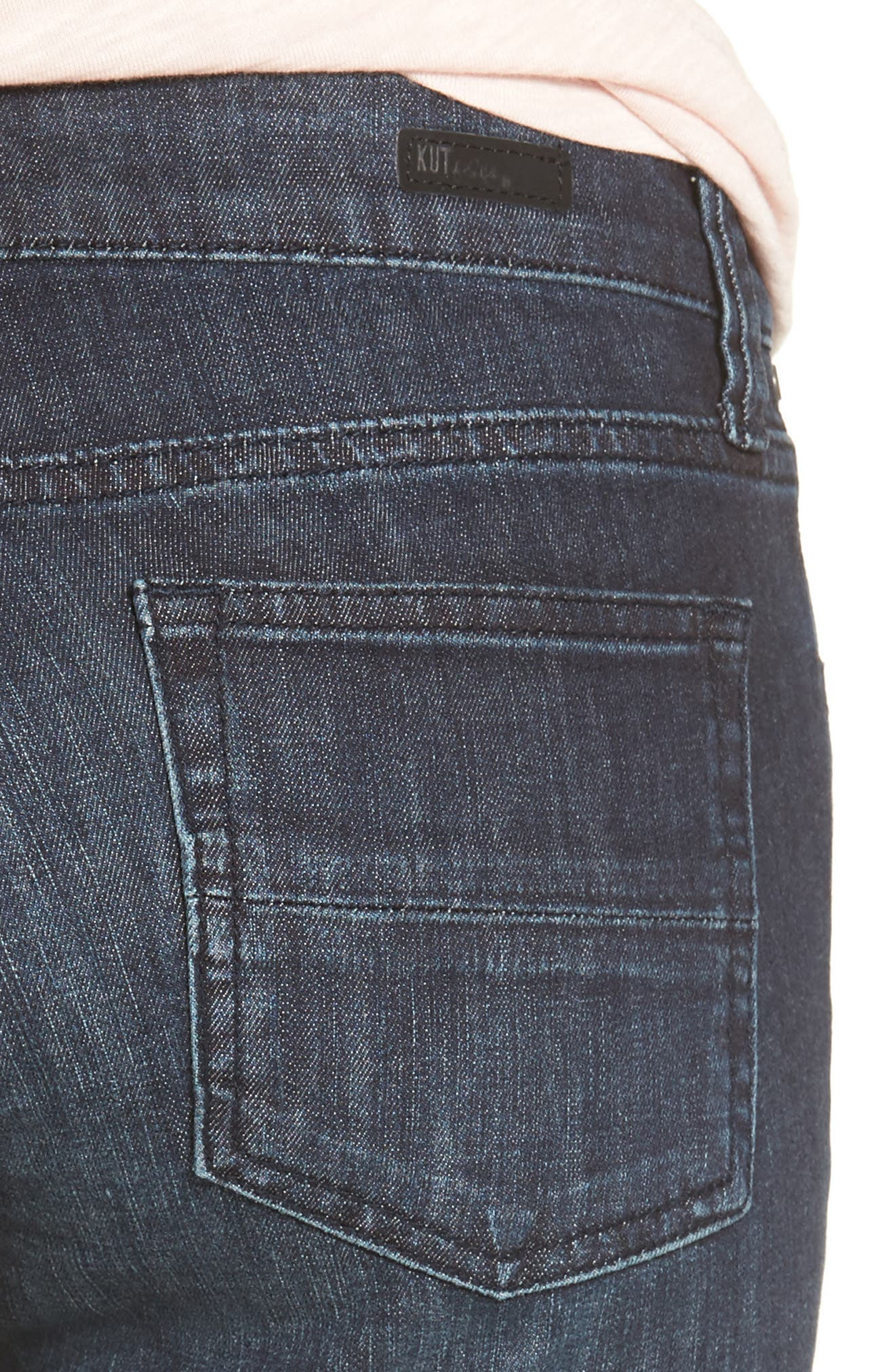Alternate Image 4  - KUT from the Kloth 'Natalie' Twill Bermuda Shorts