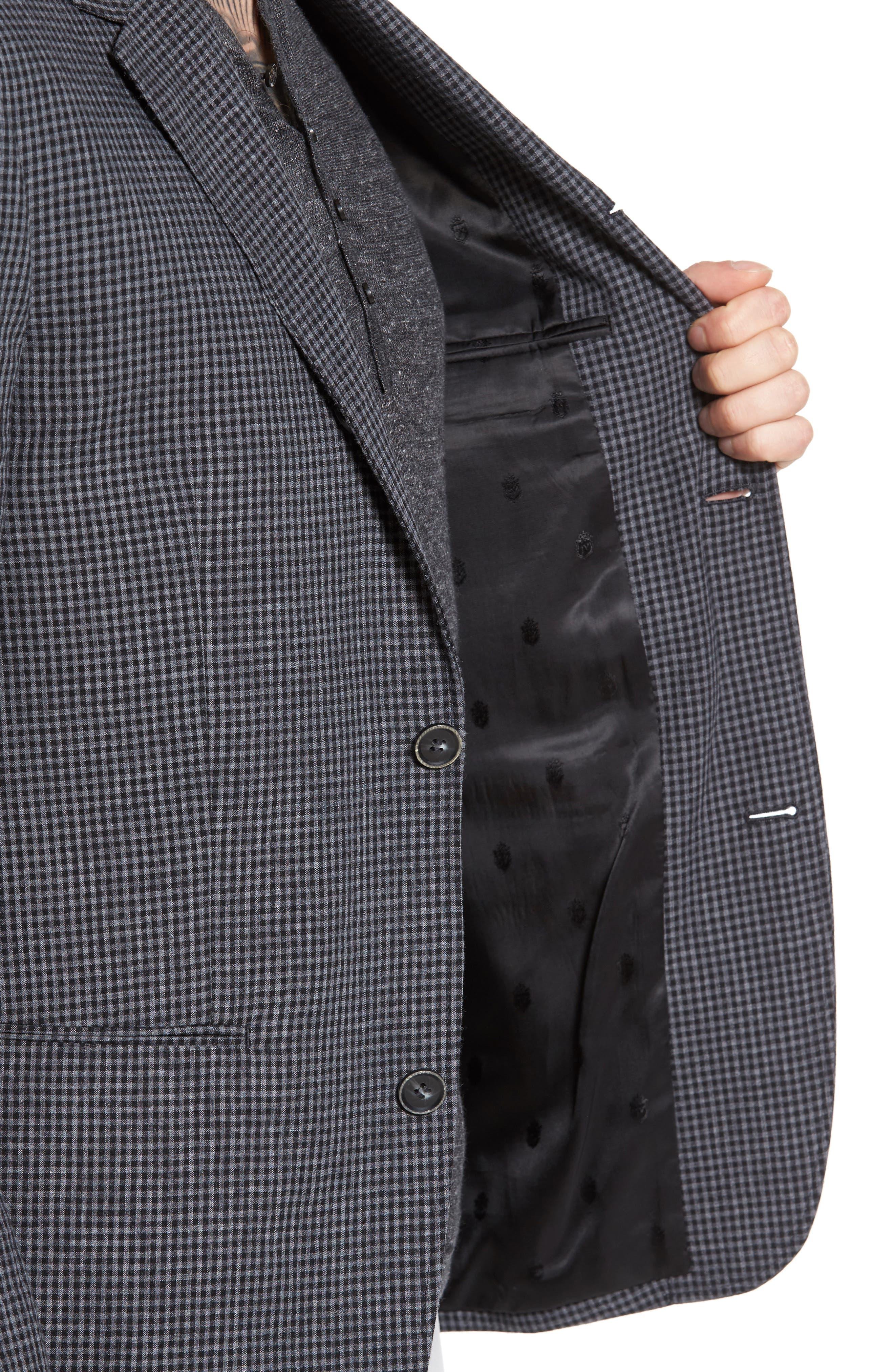Alternate Image 4  - John Varvatos Star USA Thompson Four-Button Convertible Collar Sport Coat