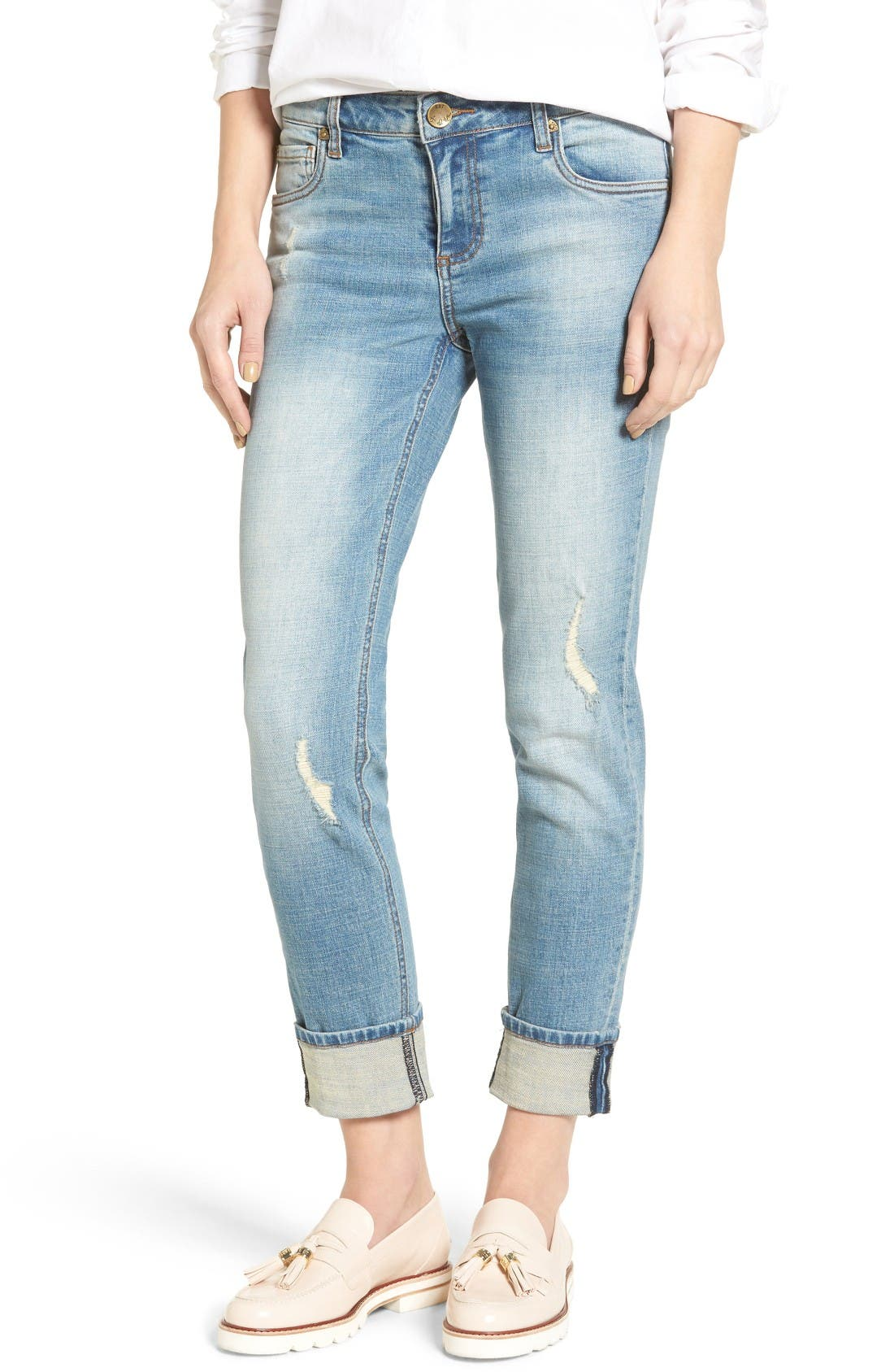 Alternate Image 1 Selected - KUT from the Kloth Catherine Boyfriend Jeans (fromal)
