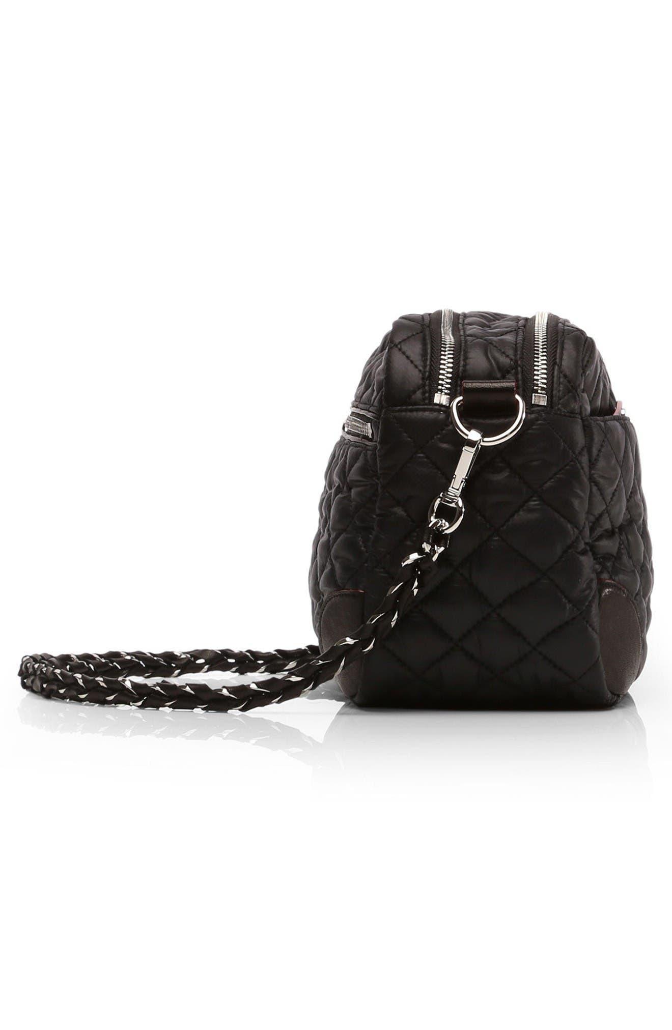 Small Crosby Bag,                             Alternate thumbnail 3, color,                             Black