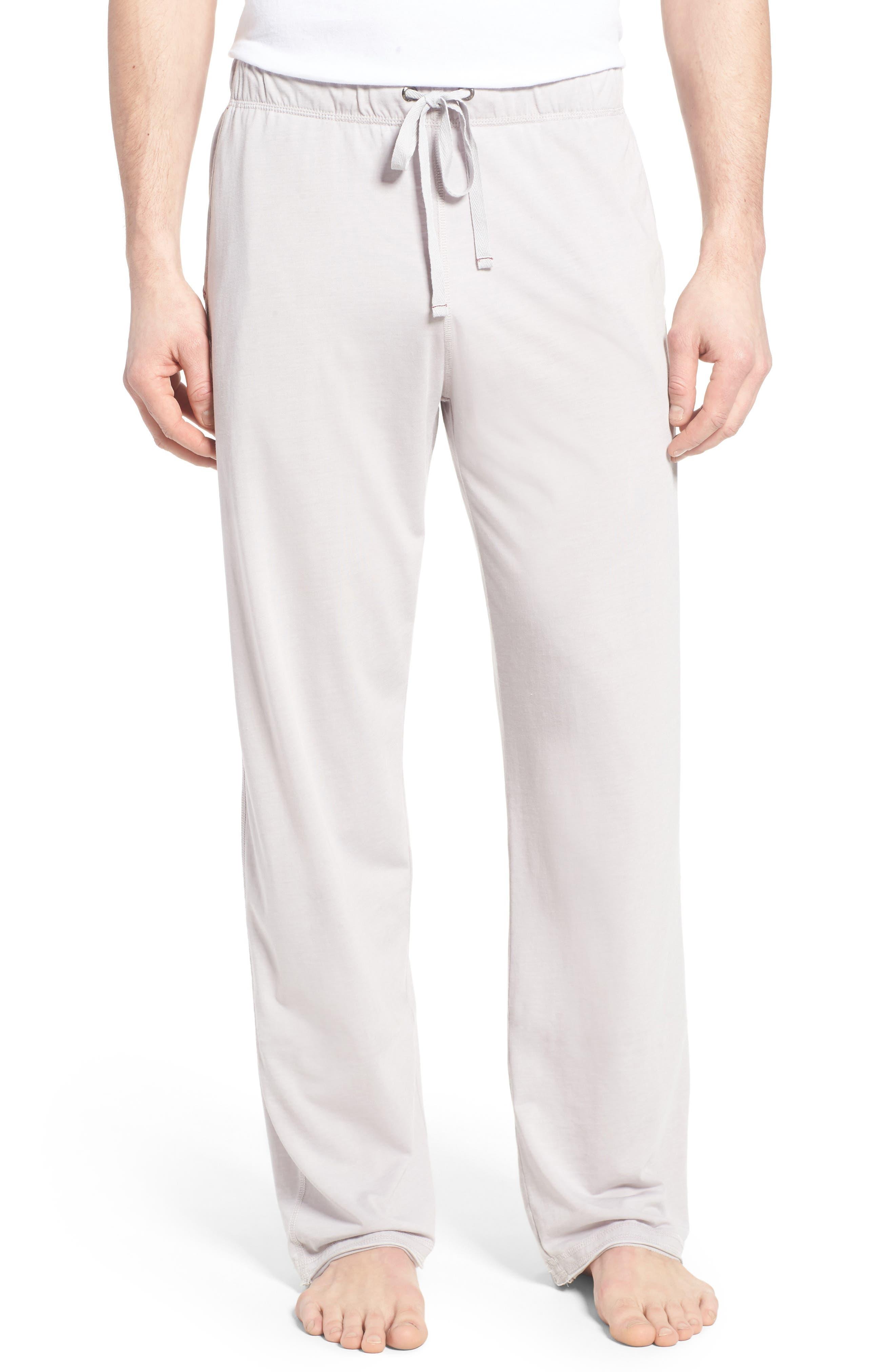 Burnout Lounge Pants,                         Main,                         color, Light Grey