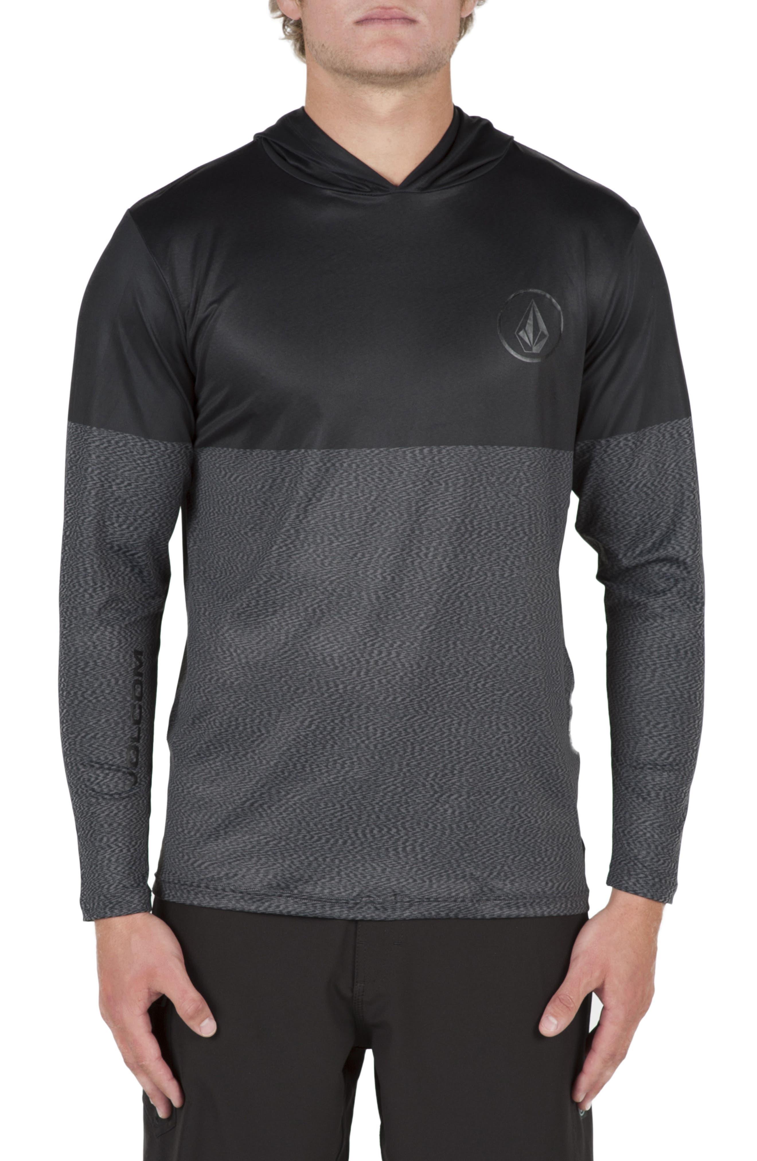 VOLCOM Hooded Surf Shirt